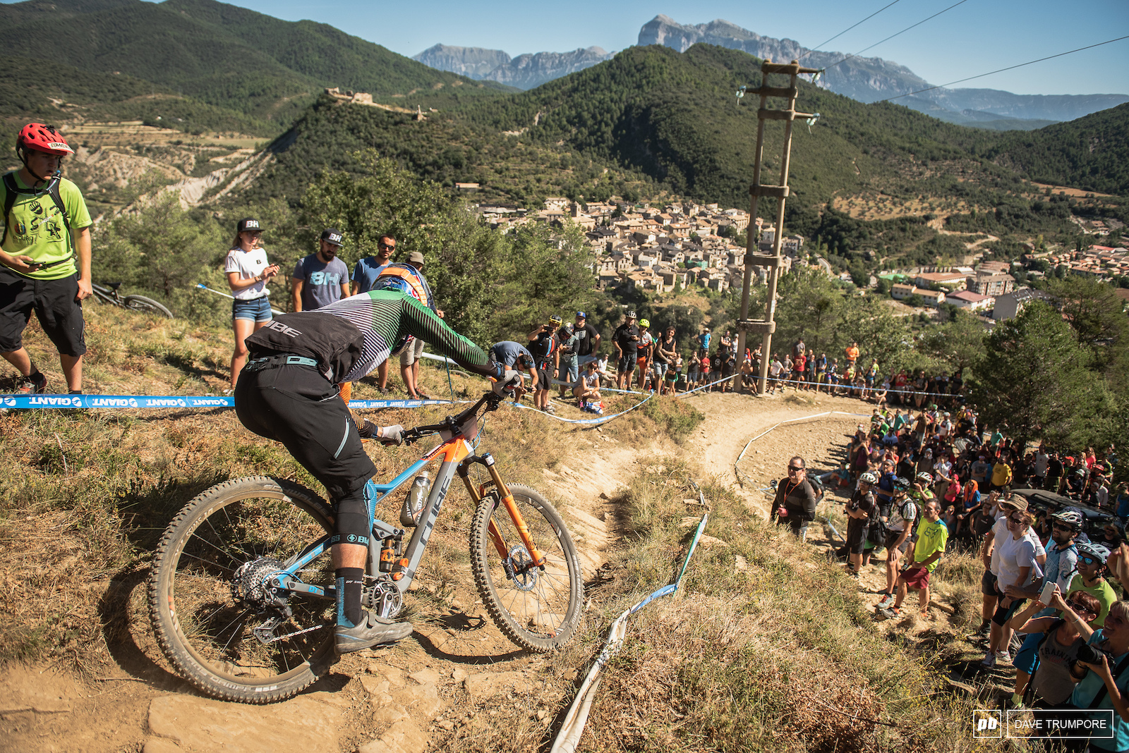 Greg Callaghan had some strong stage finishes on one of his best EWS races this season.