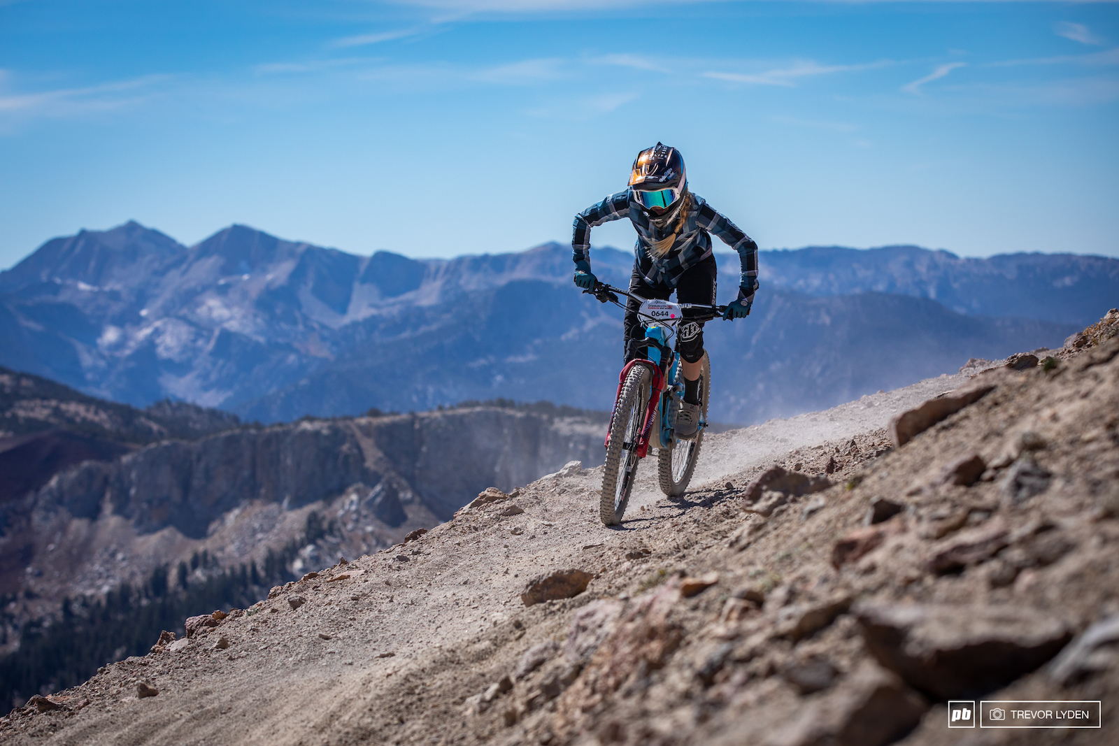 Rachel Strait putting the hammer down to a second place finish in Pro Women