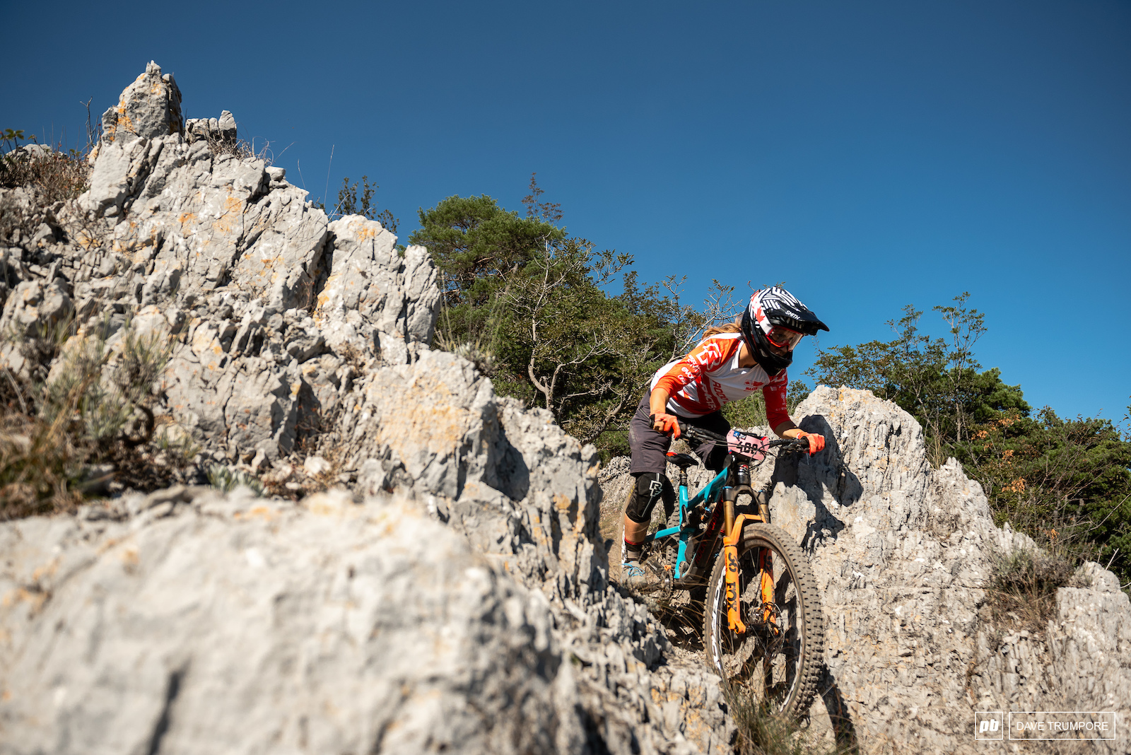 Andreane Lanthier Nadeau has been getting faster with each race and her podium finish last week in Spain proves she can mix it up with the best riders at the front of the race.