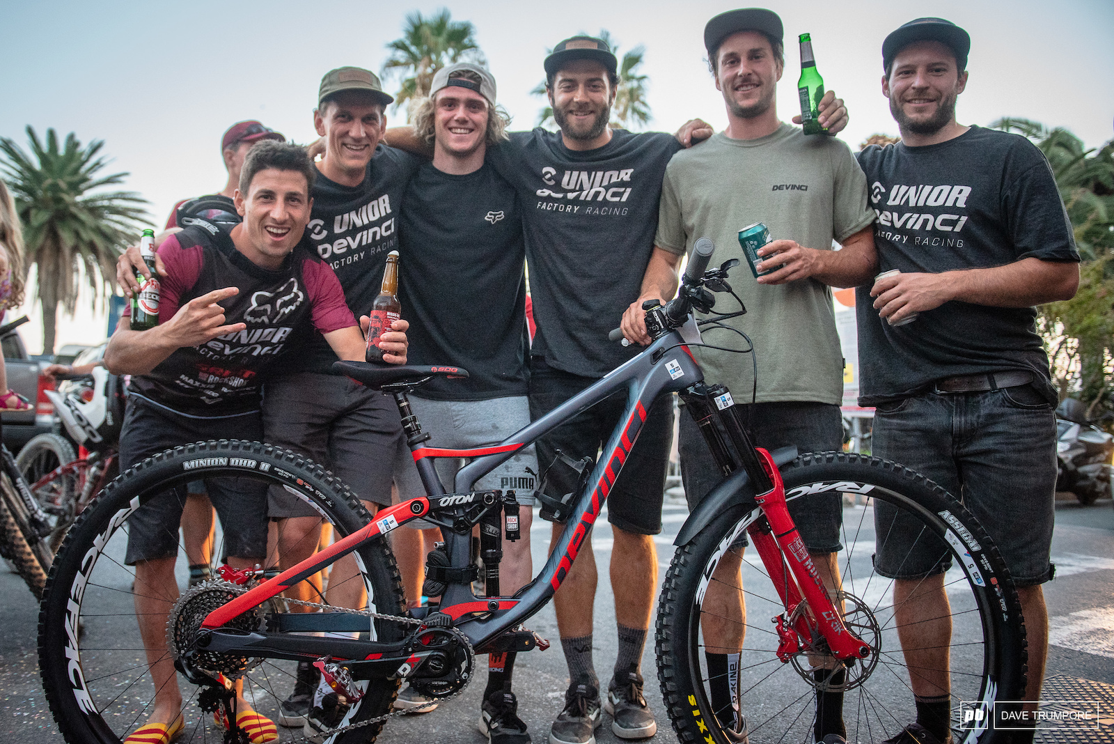 2nd in the world again for Frenchman Damien Oton and the small Devinci team out of Canada.
