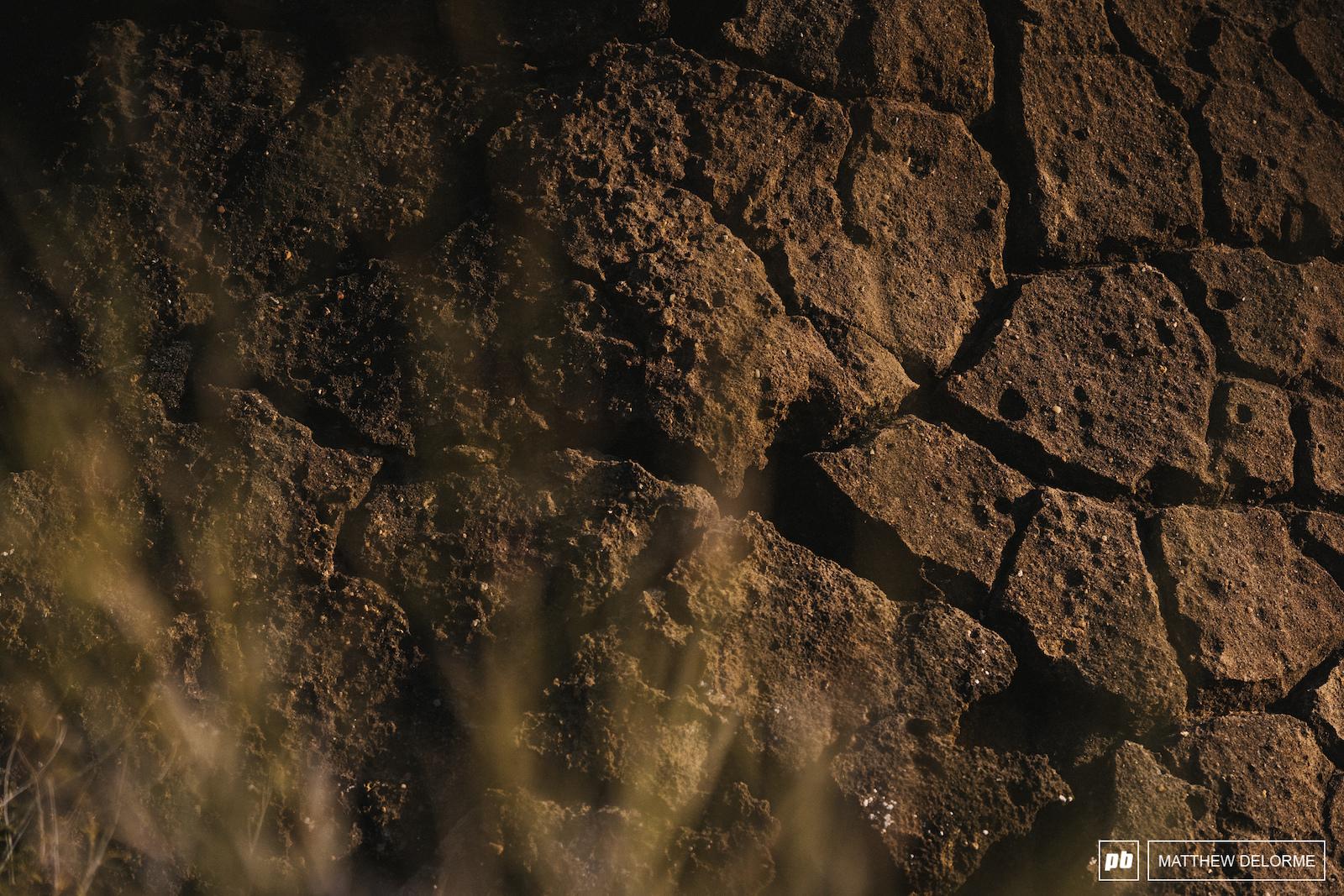 More desert texture.