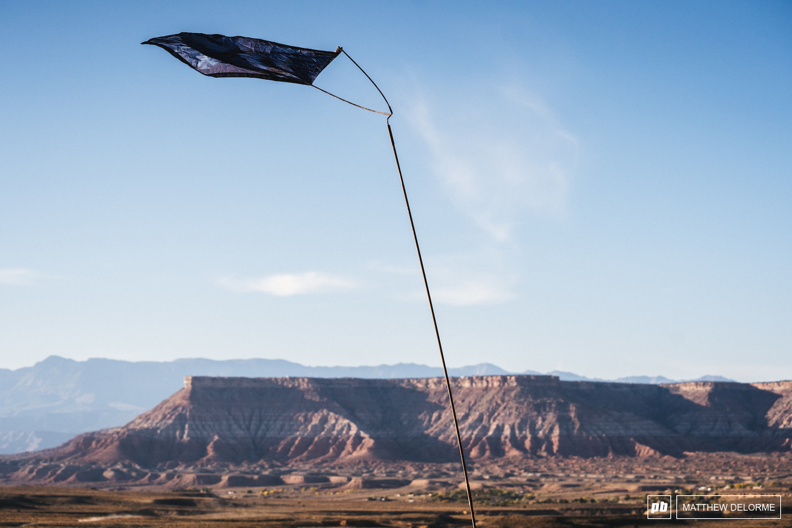 The winds of sh t sent the sh t flag blowing straight out on top of the s amp it mesa Randy.