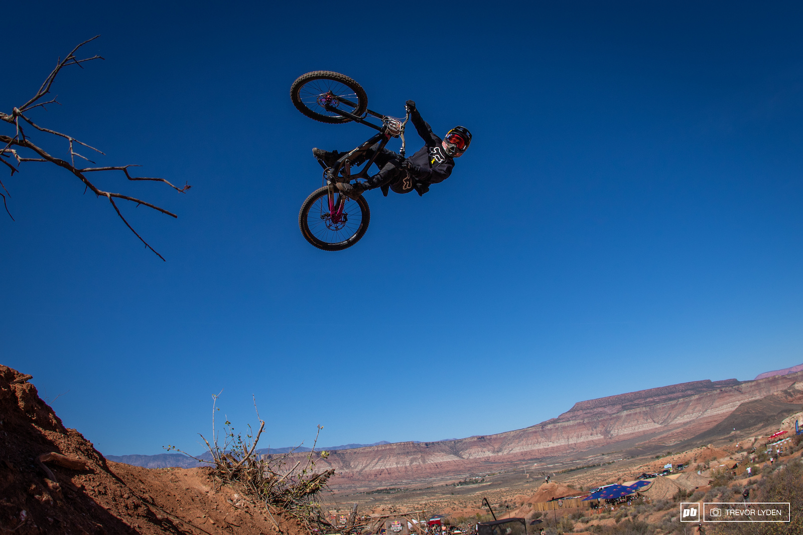 Andreu put down one of the best rampage runs we ve seen in a while and secured a second place.