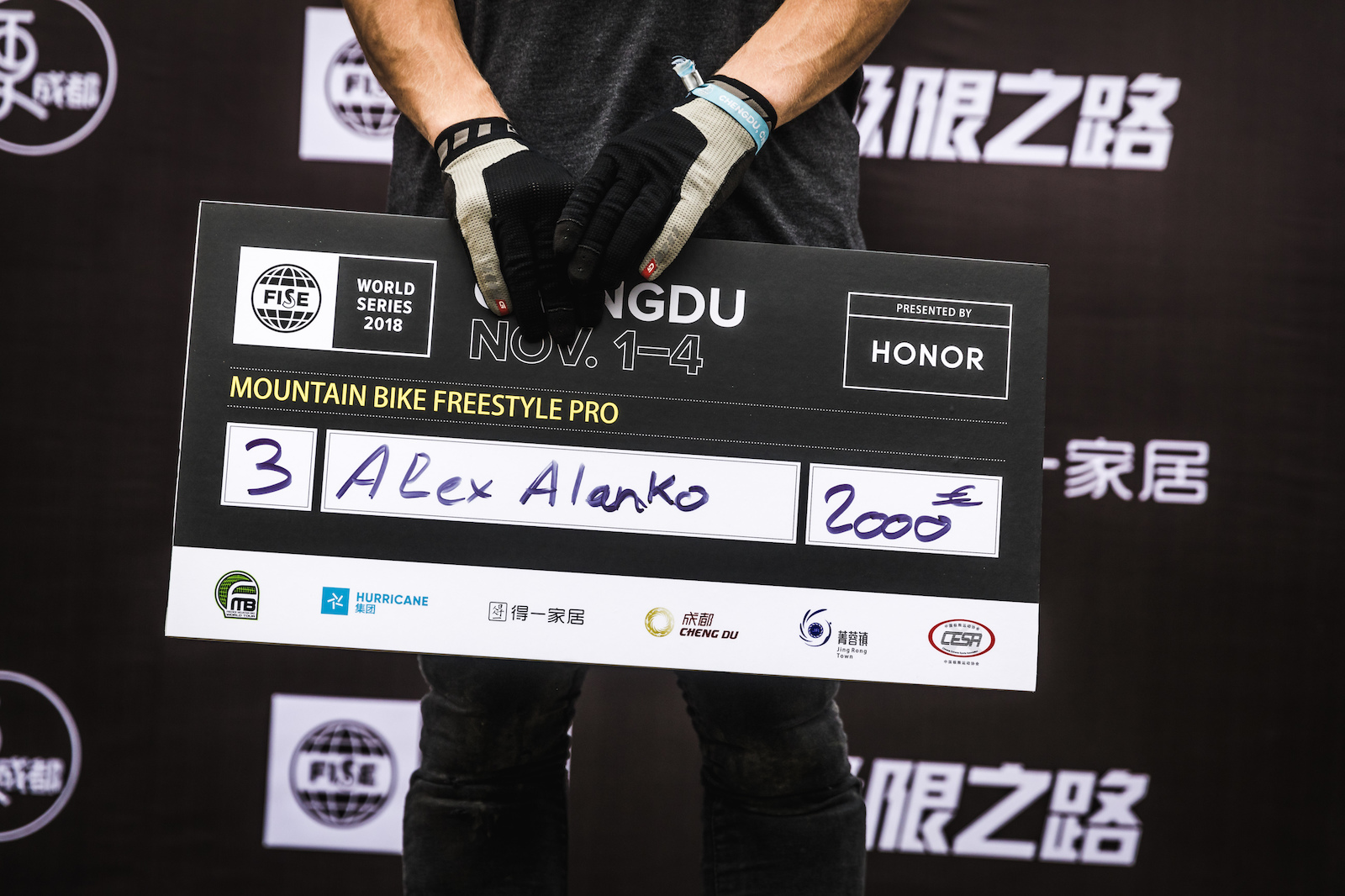 It was hardly surprising to see Alex Alanko make the podium this afternoon given the show he s treated us to these past few days.