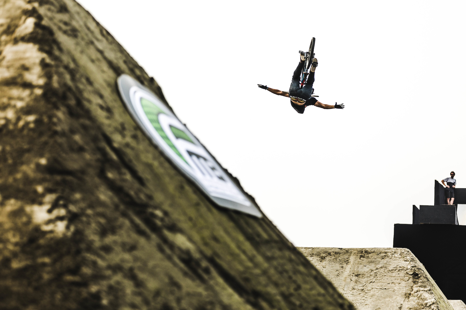 Timoth Bringer went second in Chengdu last week here he is with a Backflip Tuck-No.