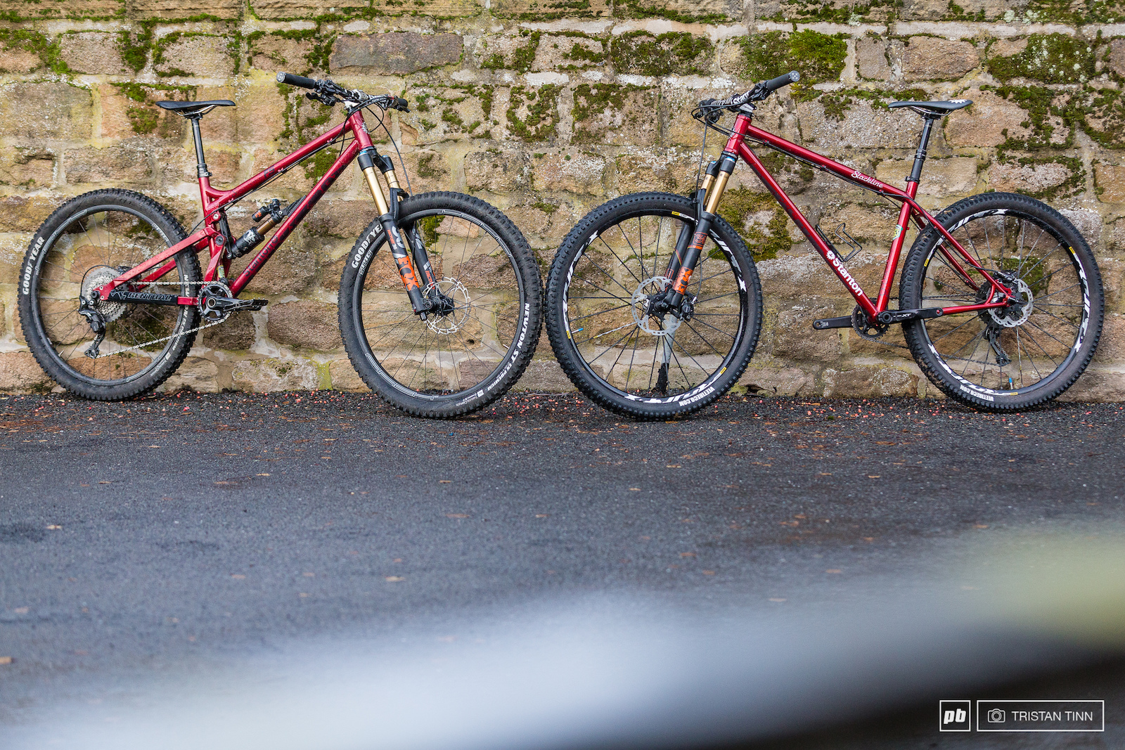 A built up second gen Switchback hardtail head to head with the Switchback FS