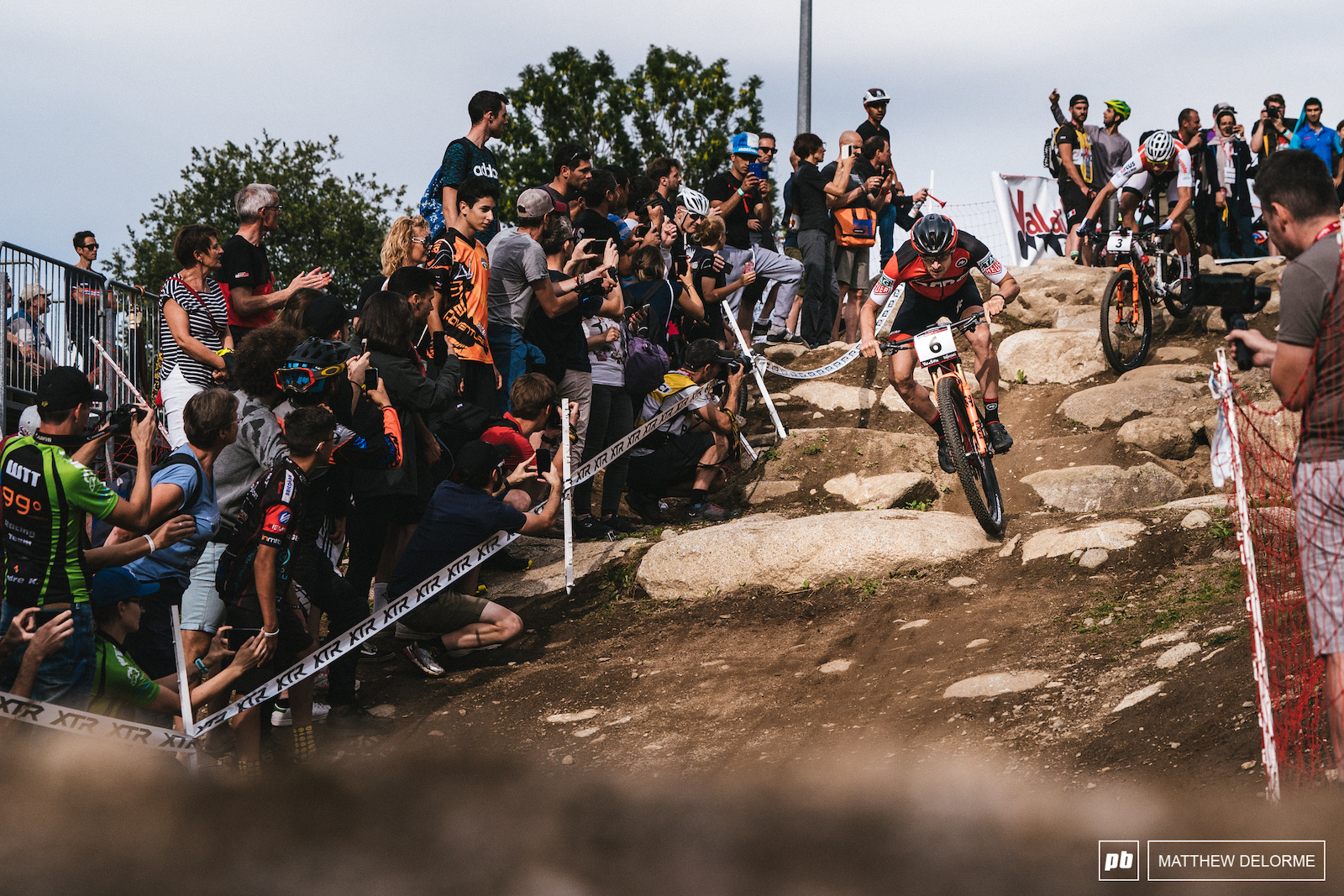 As the season progressed so did the courses. Venues took advantage of the technical terrain at their disposal and implemented it when possible.