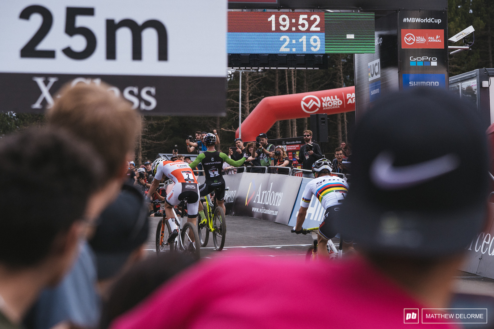 Avancini took his first STXC win in Andorra and the momentum followed him through to the rainbow stripes at Marathon Worlds.