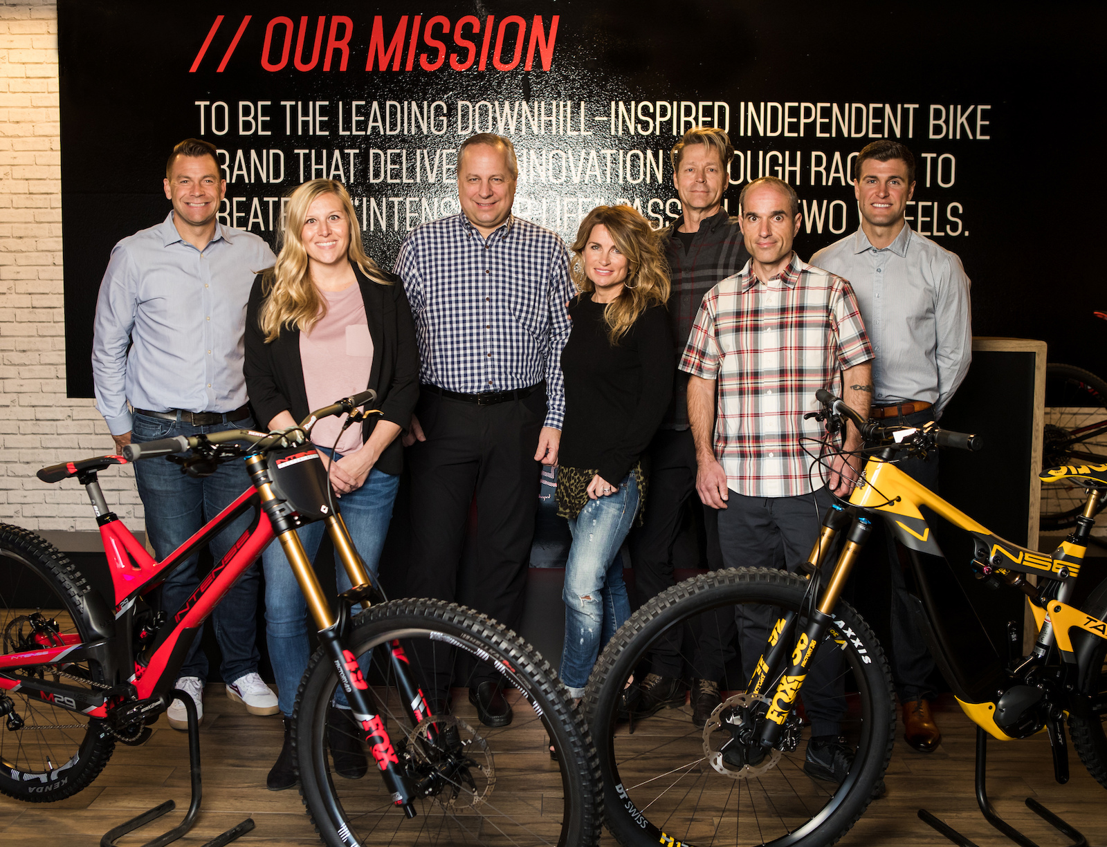 L to R Jon-Erik Burleson Jeb Christy La Curelle Jeff Majkrzak Jennifer Gabrielli Jeff Steber Chad Peterson Ryan Dungey