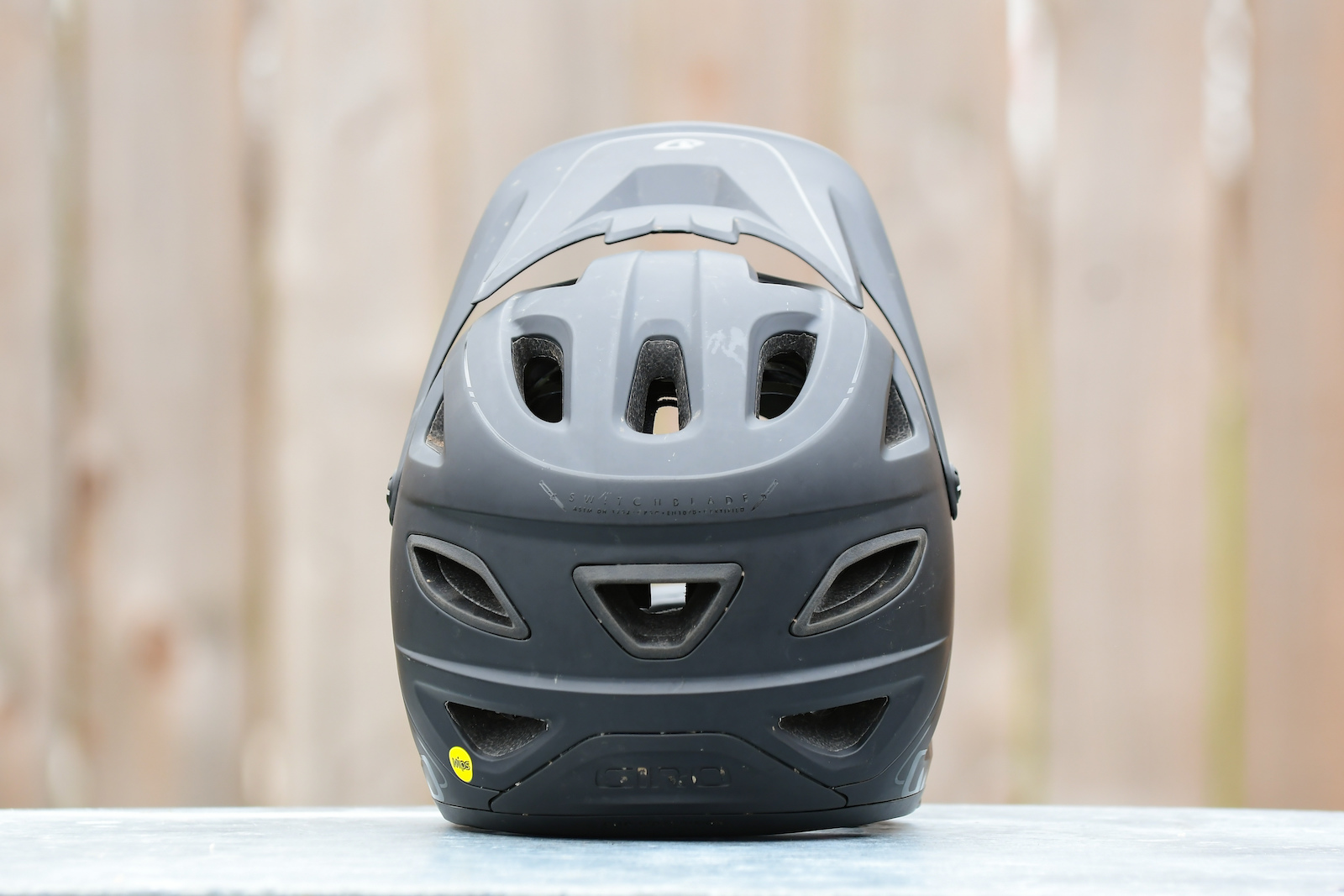 Enduro full face ridden and rated