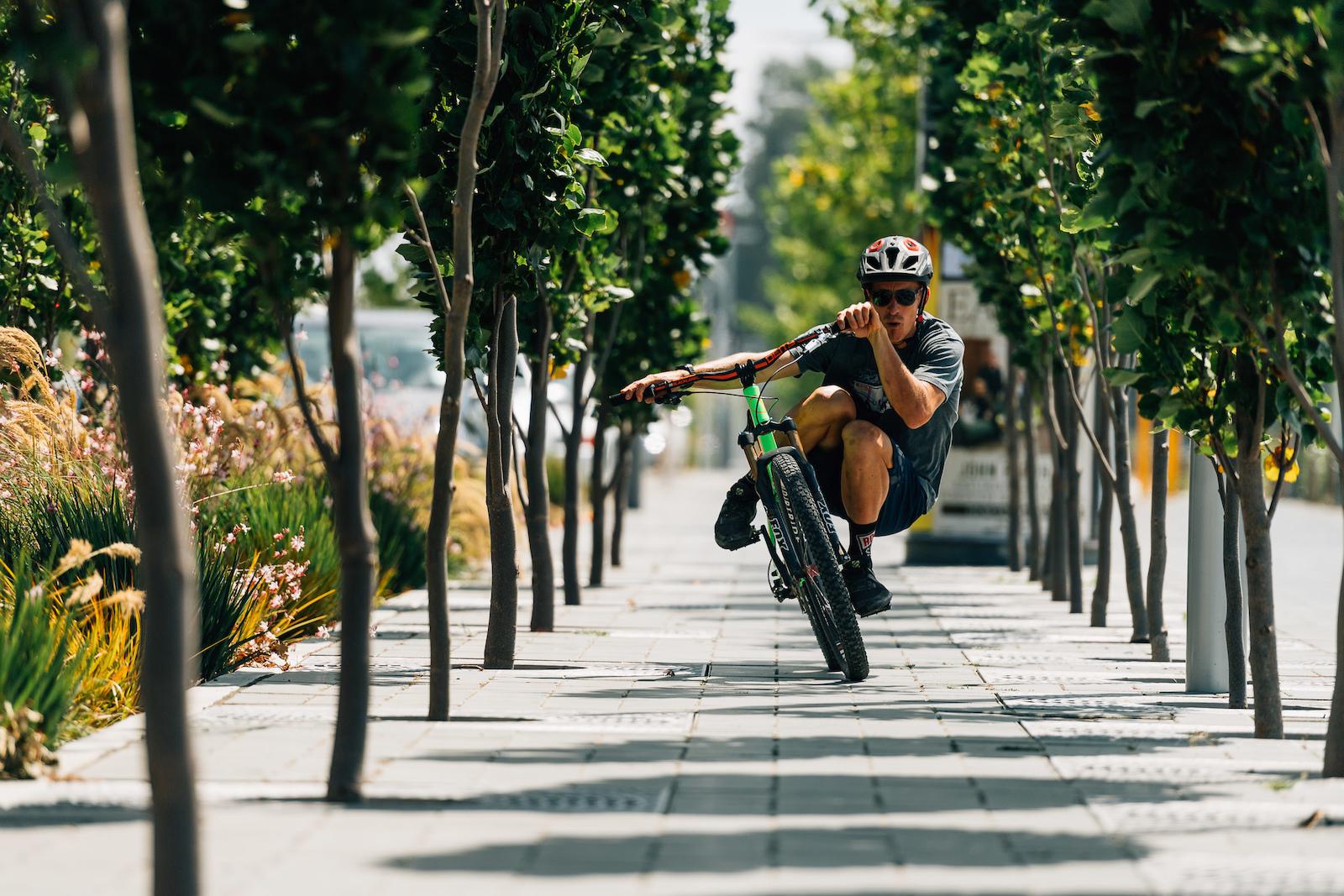 Sam Blenkinsop Lowrider - through the trees.