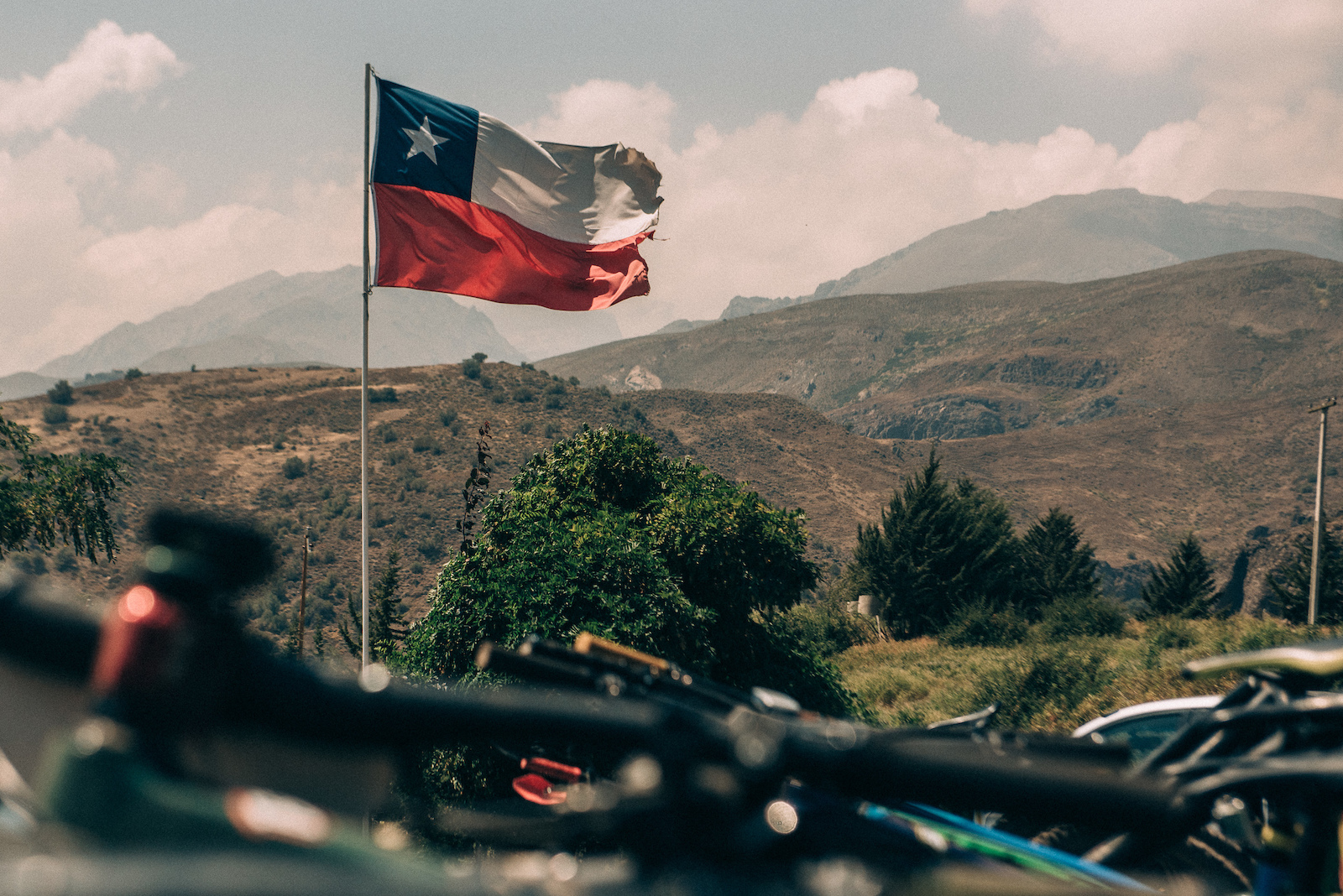 Time to ride some bikes in the Andes off Chile.