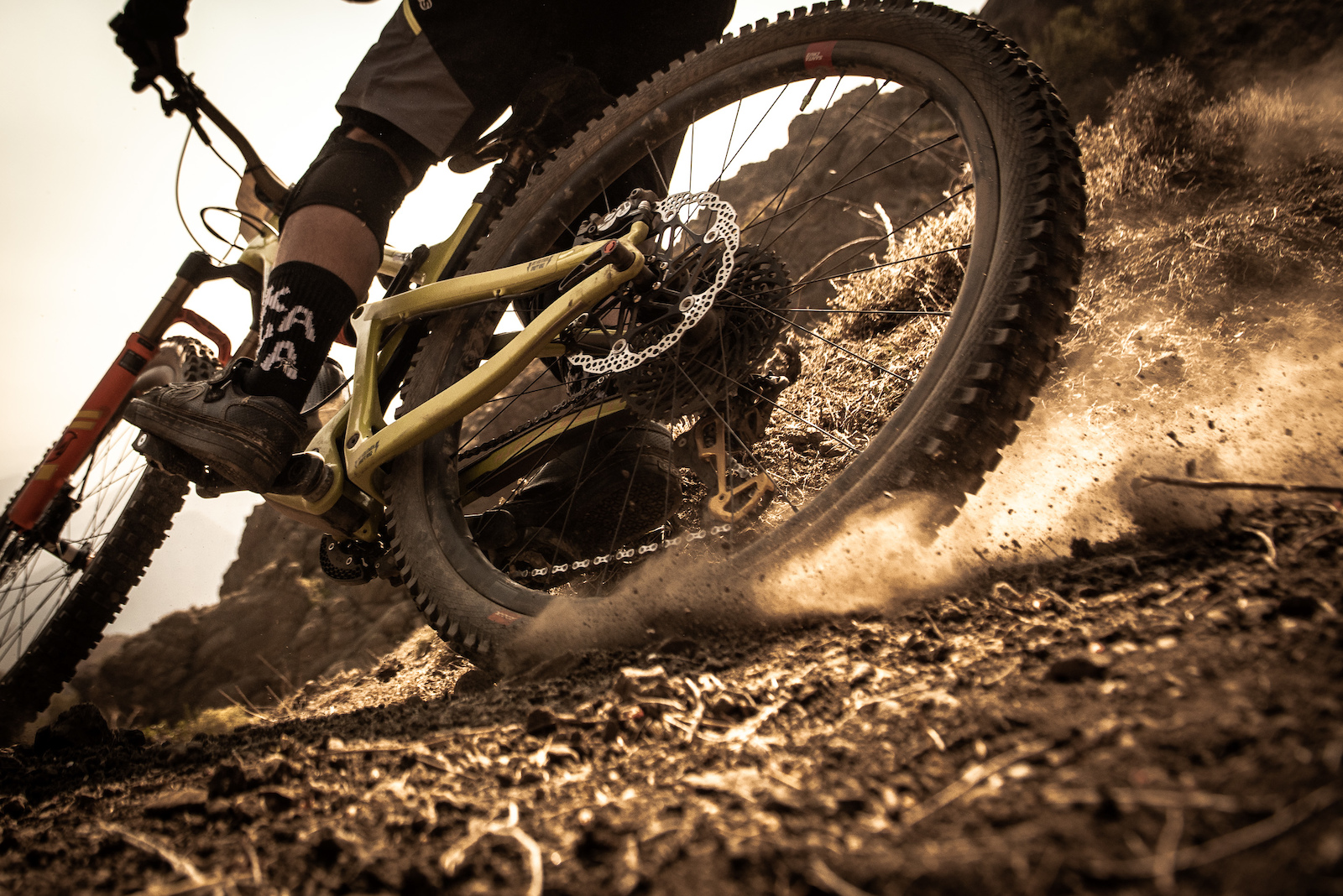 Trying to find grip on the dirt in the Andes is a science few have mastered.