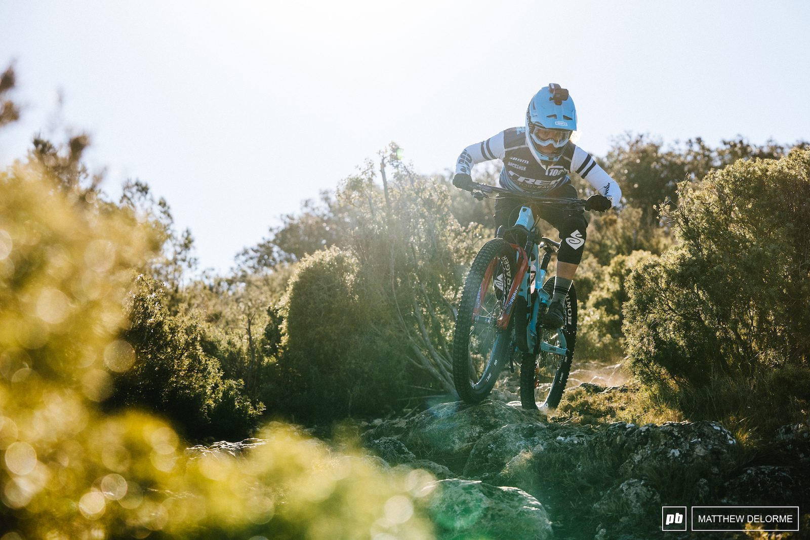 Katy Winton has the ride dialed and is ready for a new EWS season to get started.