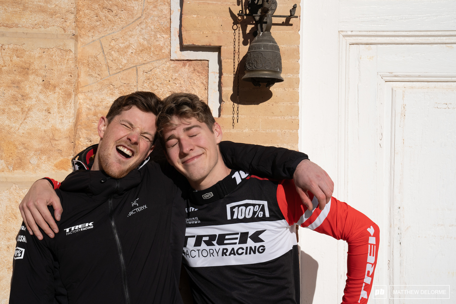 Ruaridh and Reece are stoked to be racing under the same program.