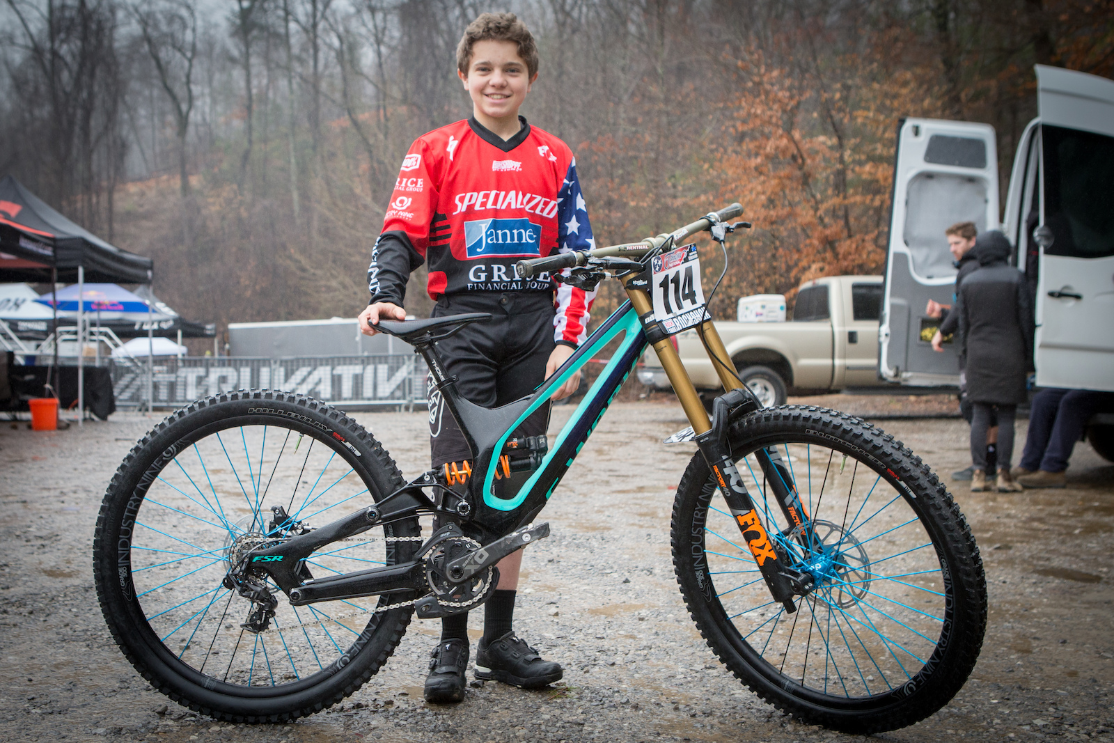 2f821f31b99 Bike Check: Christopher Grice's Specialized Demo - 2019 Windrock Pro GRT