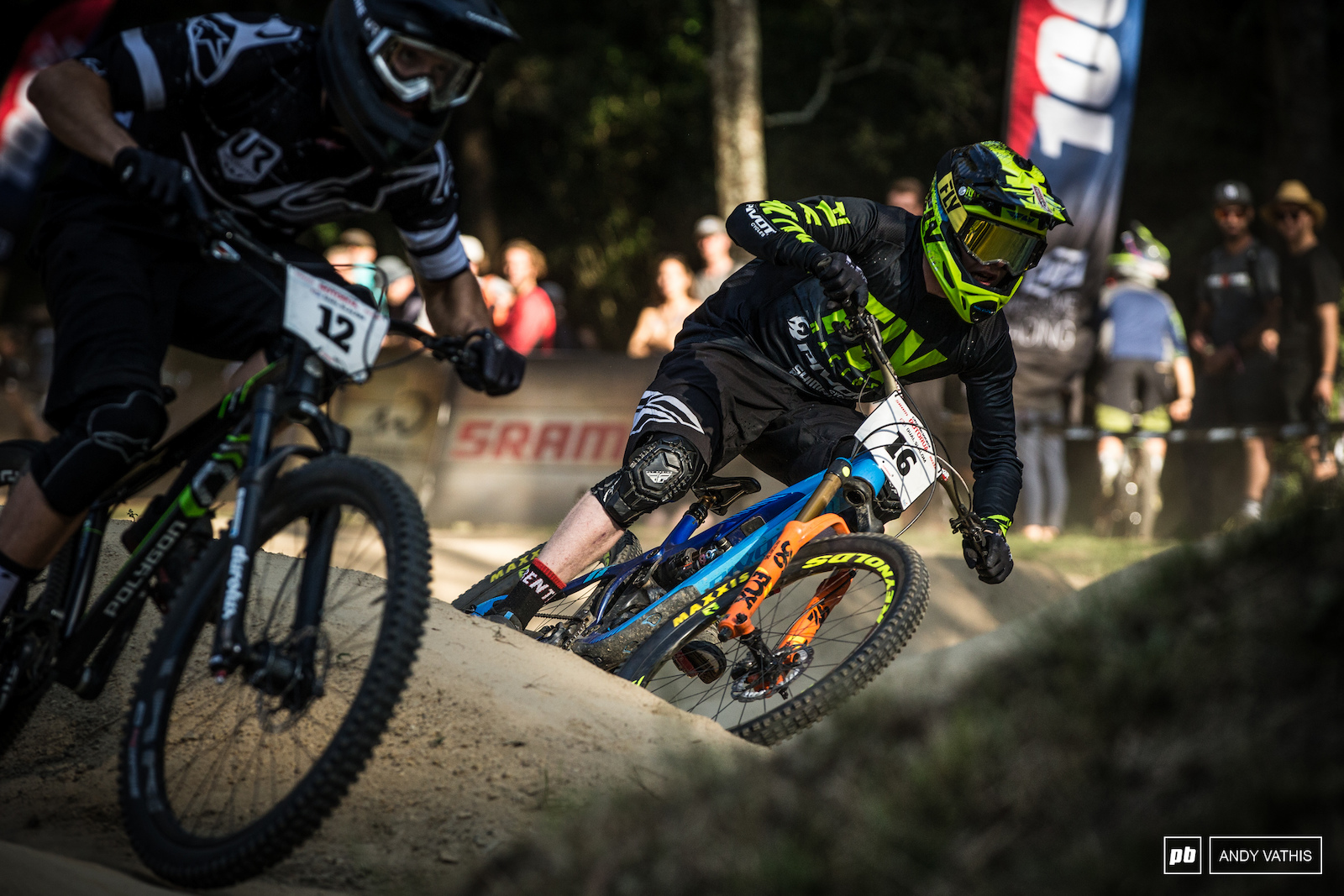 The beauty of dual slalom is that it attracts riders from different disciplines and backgrounds.