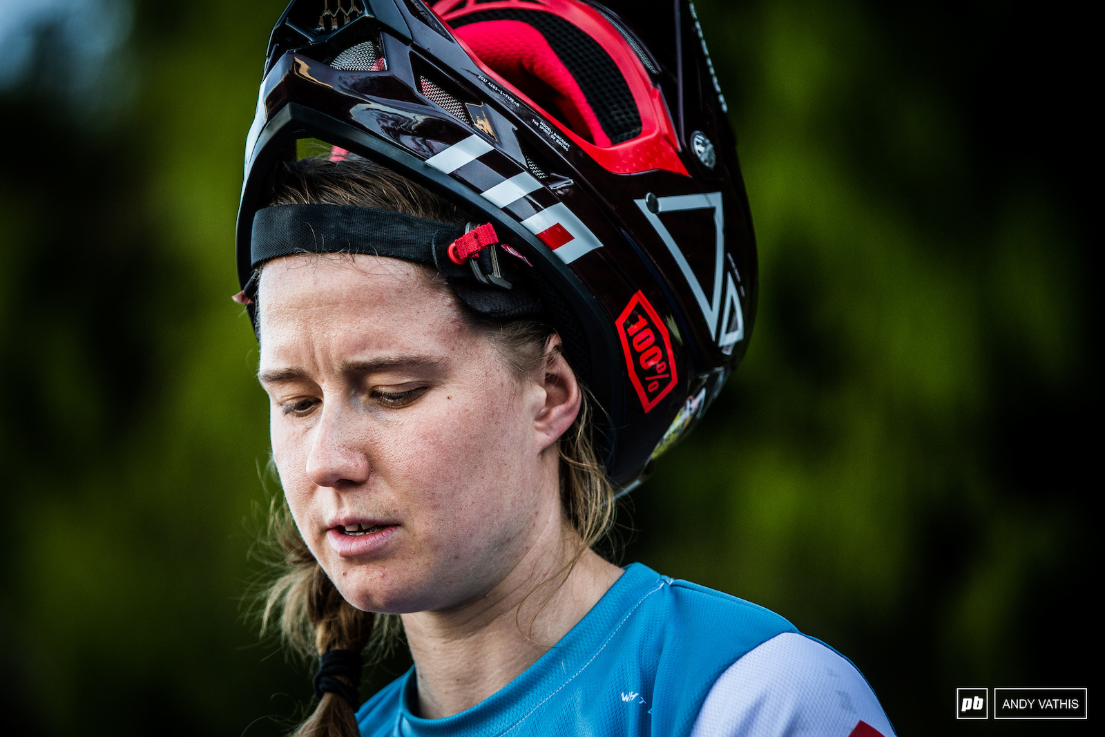 Miranda Miller is another multidisciplined rider competing in the EWS.