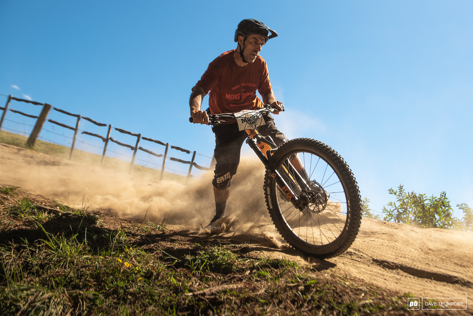 Salva Moreno knows sideways in the dry is more fun than sideways in the wet.