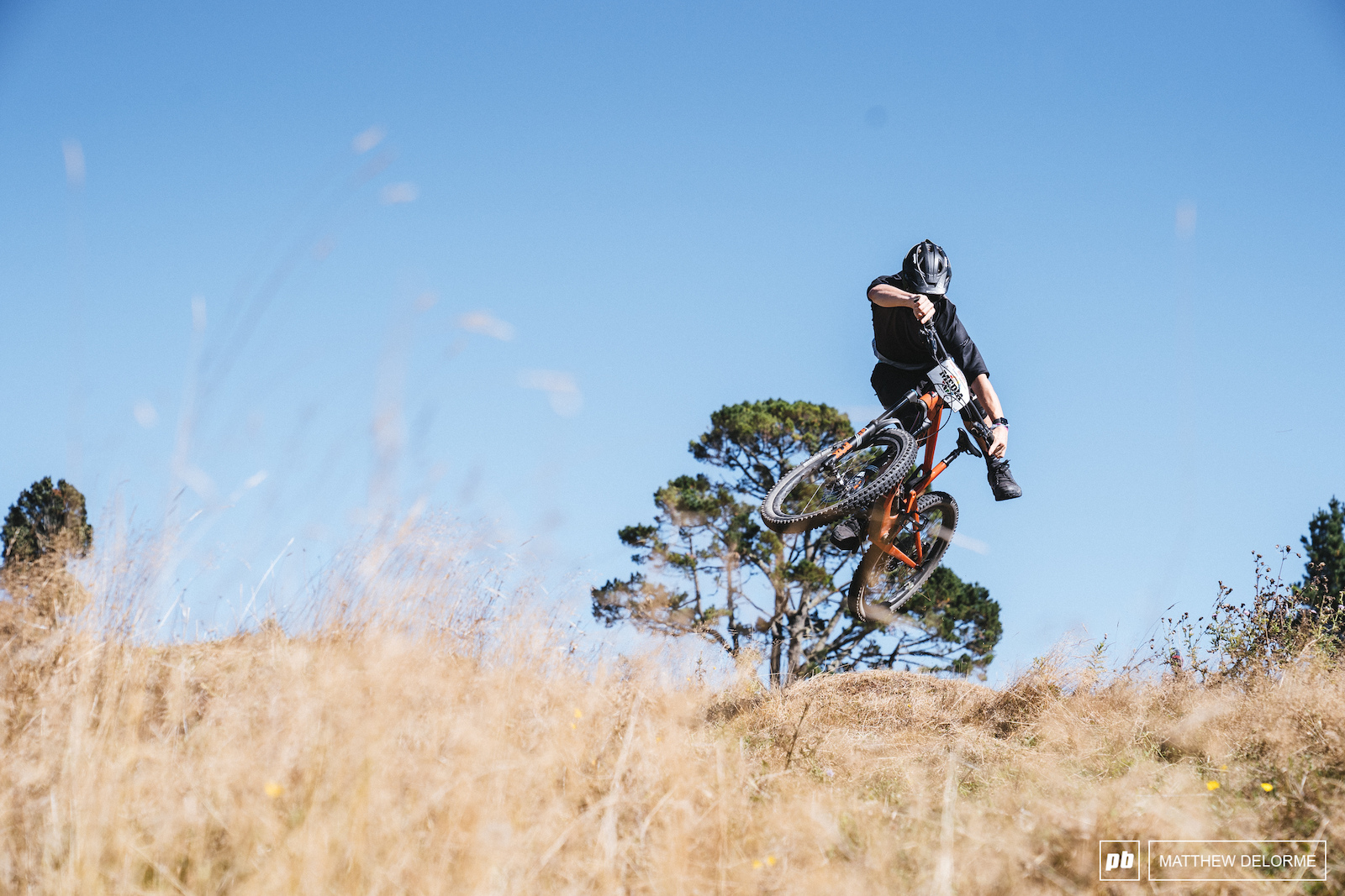 It wouldn t be a media recce without some tricks. Chris Seager shows some style before we drop in.