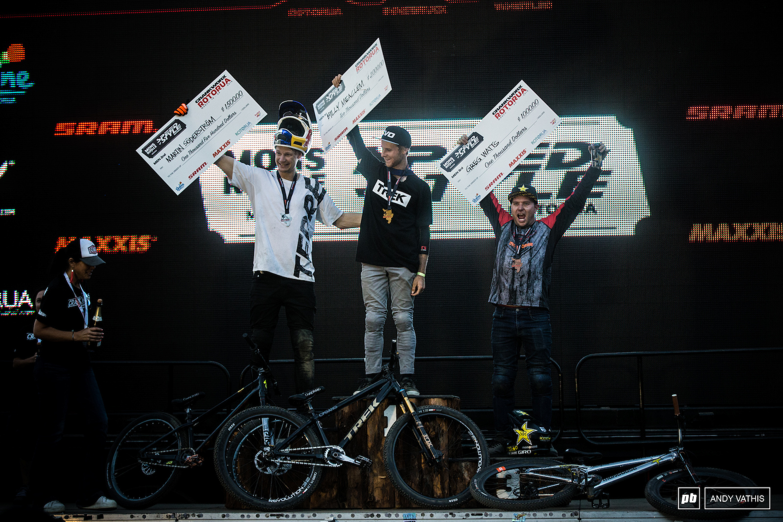 Speed and Style Podium.