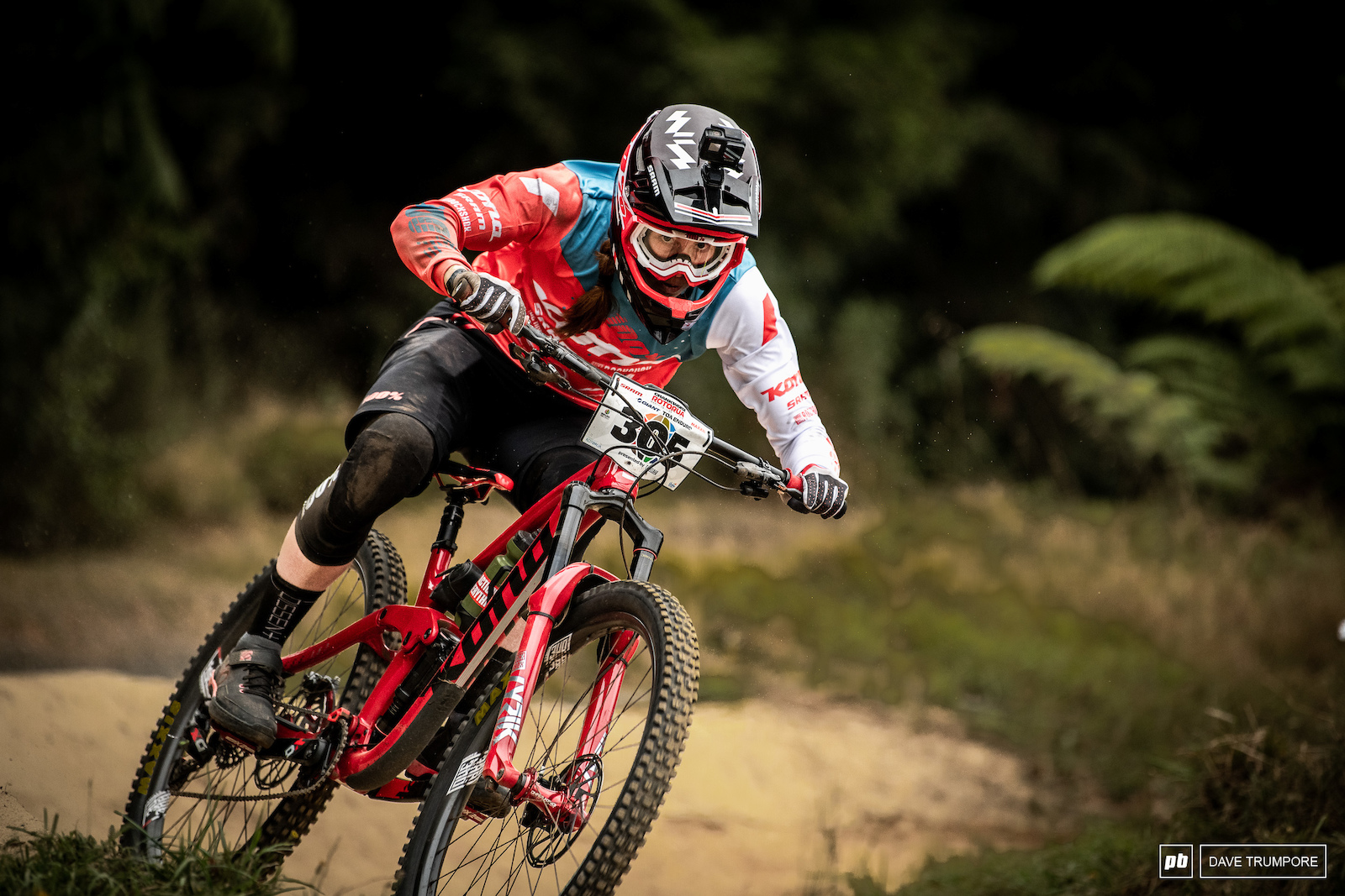 Miranda Miller has been looking up to speed and comfortable on her new setup here in Rotorua.