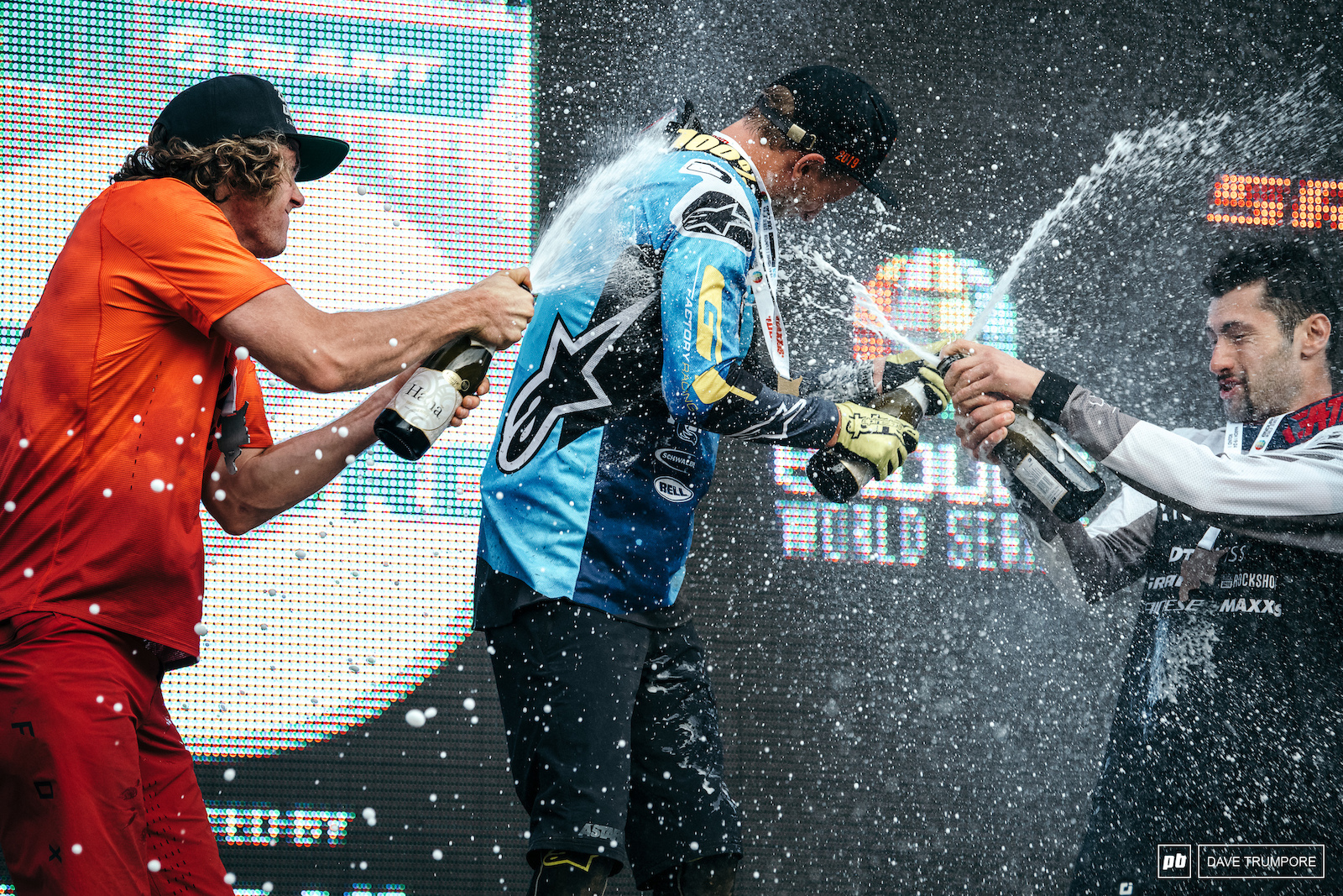 The top three men to start of the 2019 Enduro World Series.