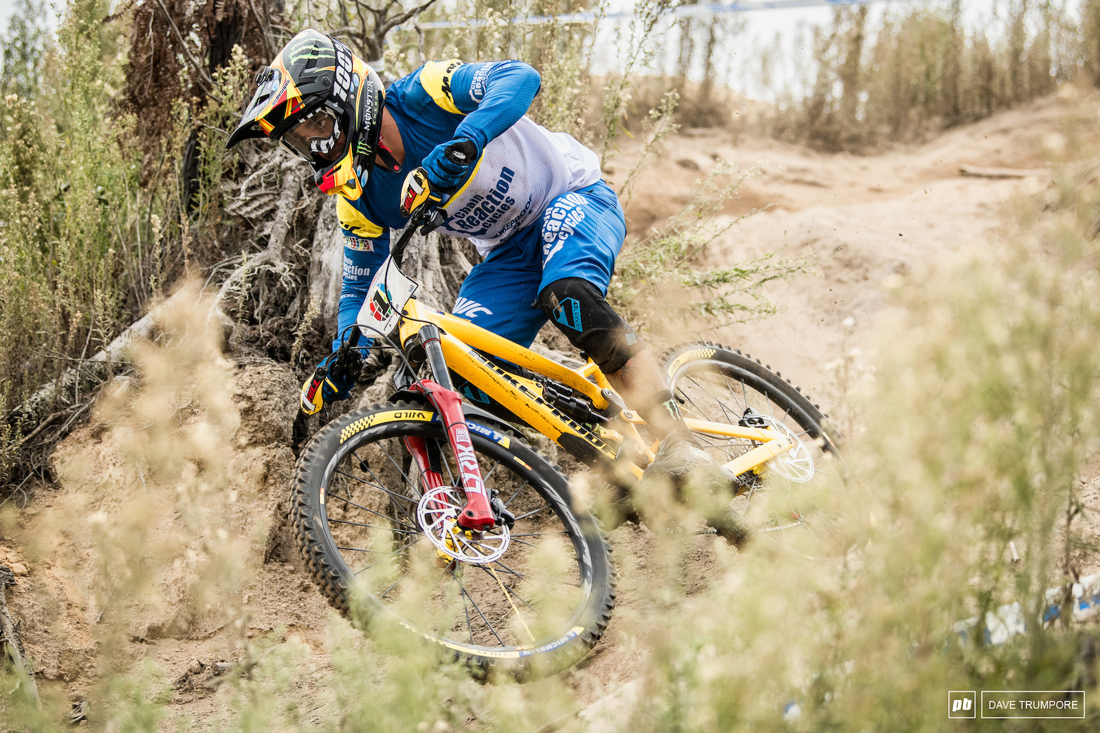 Today just wasn t Sam Hill s day but he only has to wait one week for redemption in his home country.