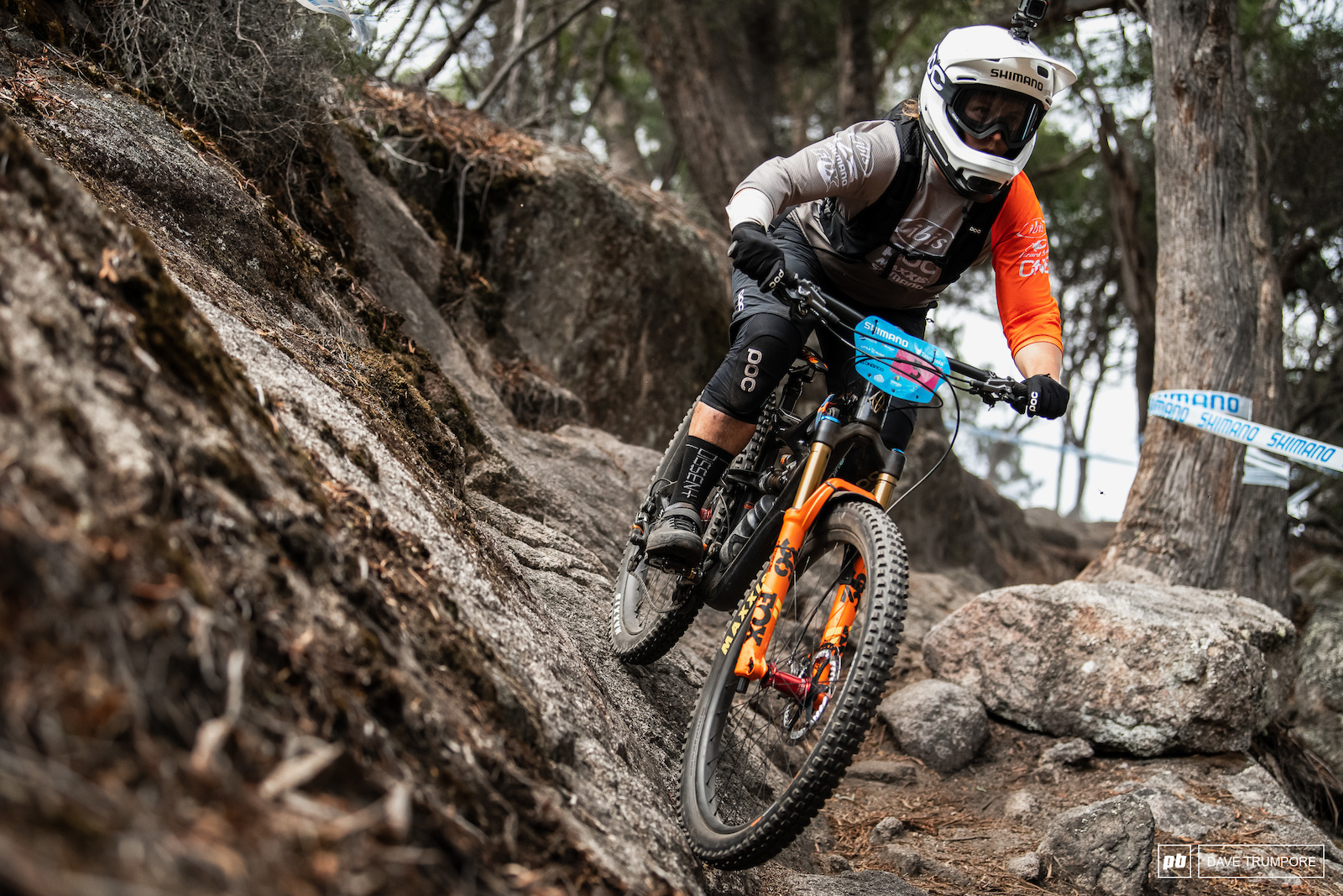 After hr first appearance on the podium last round Bex Baraona is riding with confidence in Tasmania.
