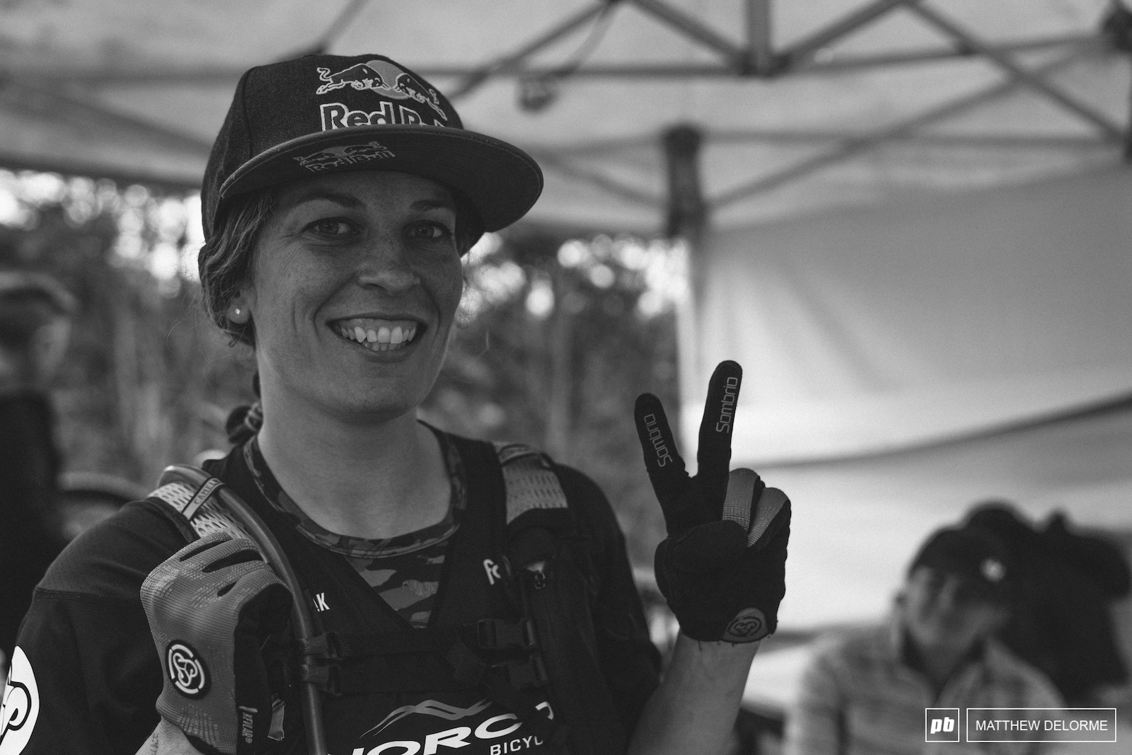1st EWS and a second place. Jill Kintner has something to smile about.