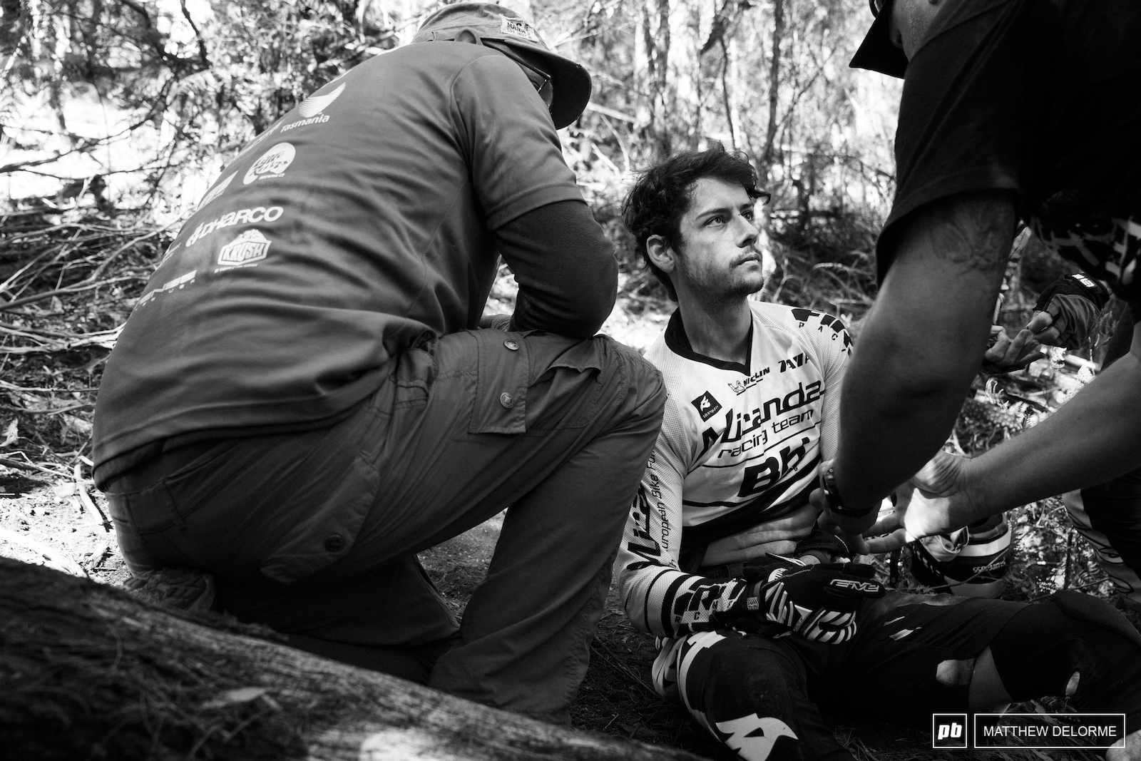 Bad day for Alex Cure. A crash on stage two took him out of the running.