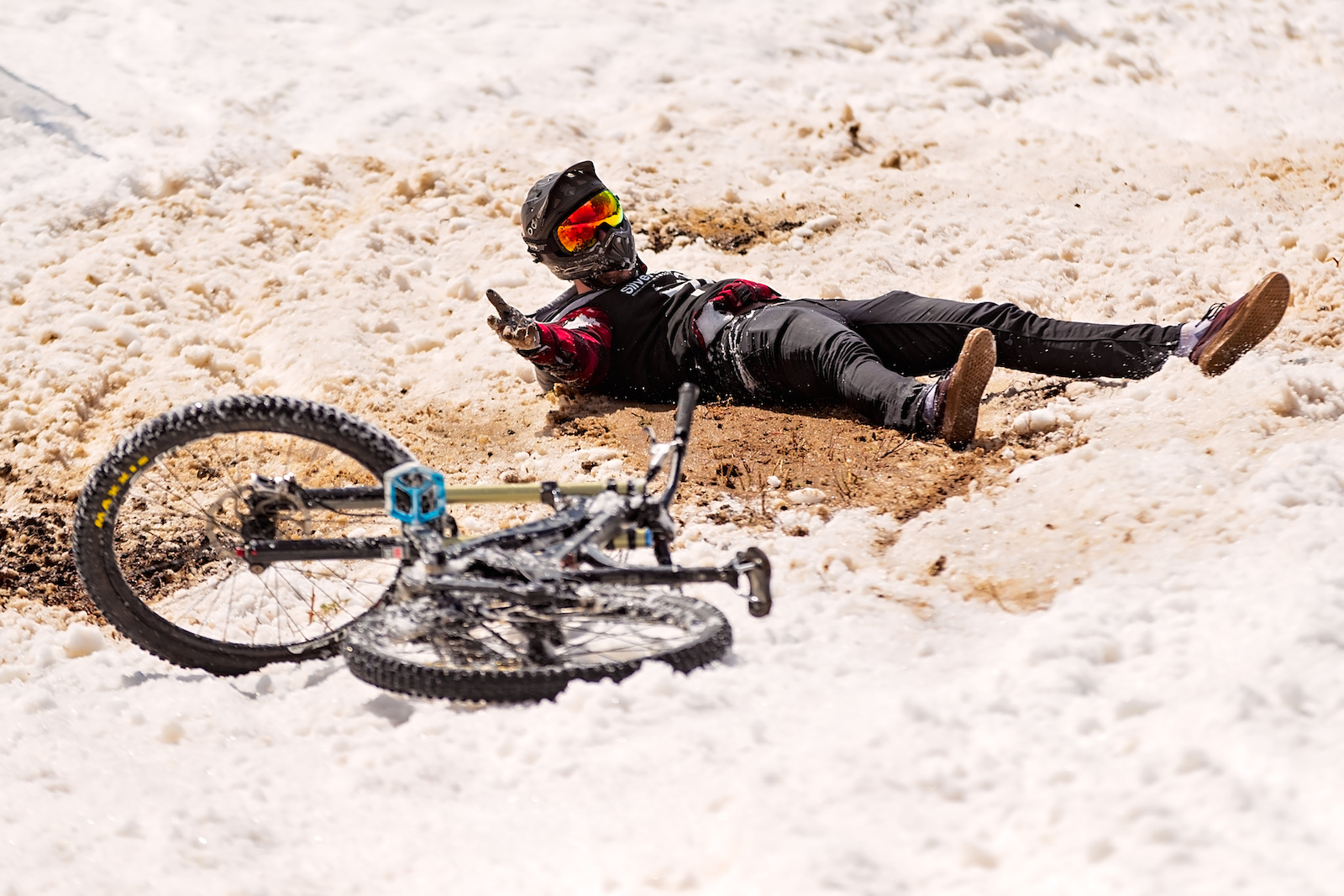 When riding fails use the force.