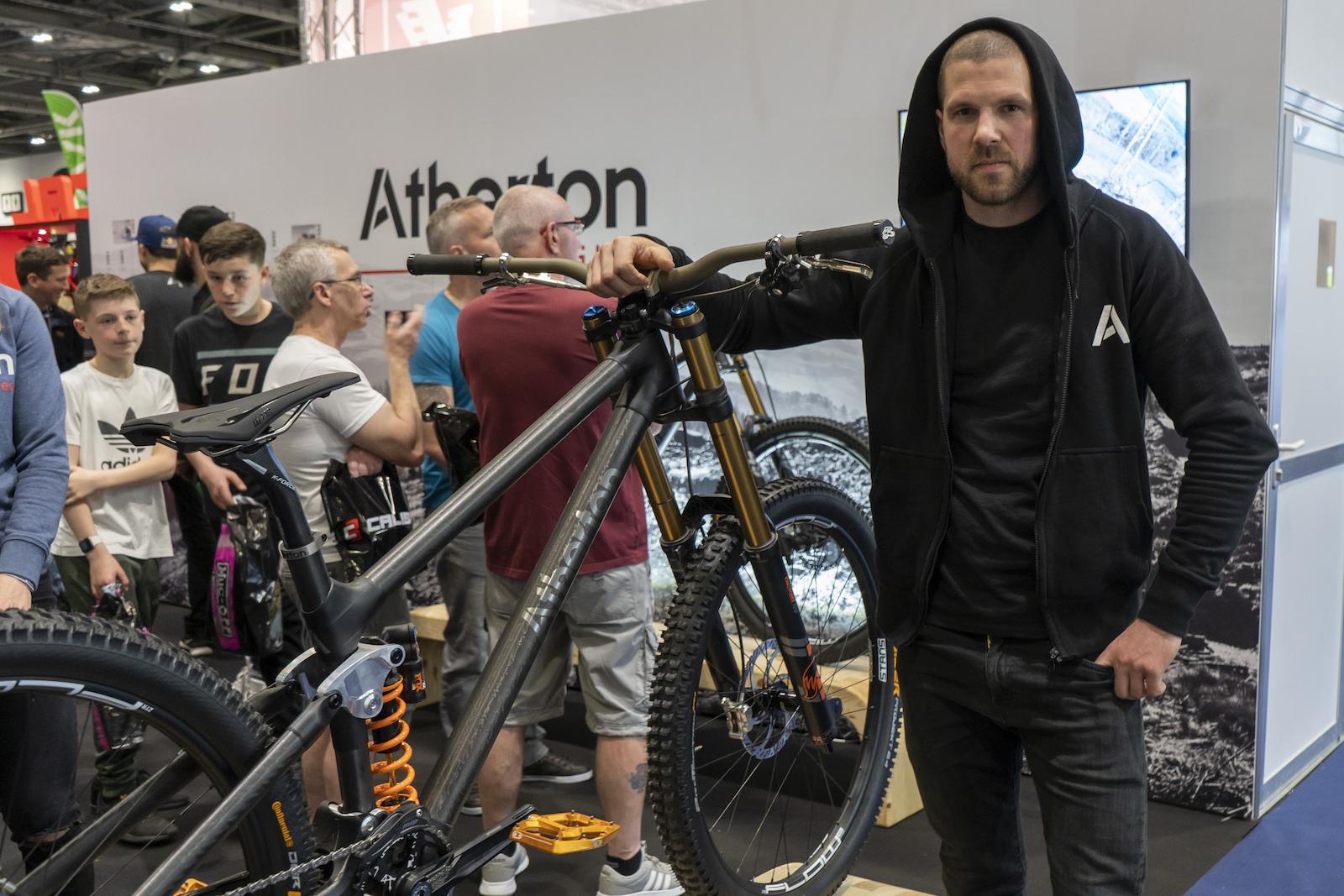 e03d32d7278 Bike Check: Dan Atherton's Prototype 29er DH Bike - Pinkbike