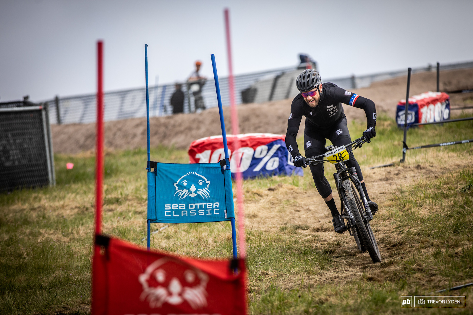 Bobbing and weaving between gates. This final stage is unlike any other enduro.