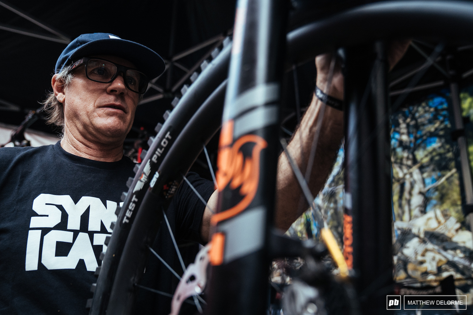 Dougie Fresh puts the finishing touches on a fresh whip for Luca Shaw.