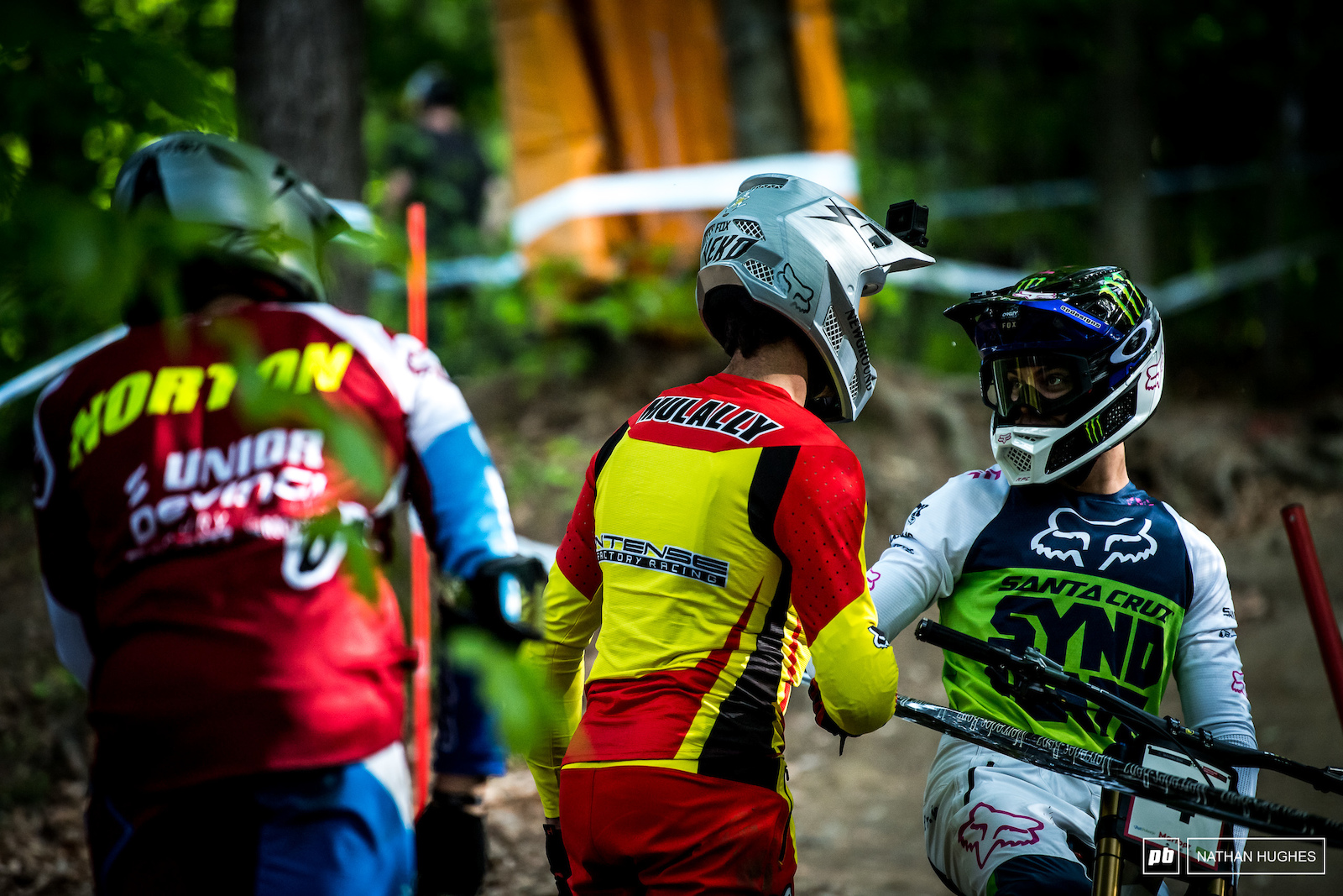 Still lots of mates to catch up with in the woods at round 1.
