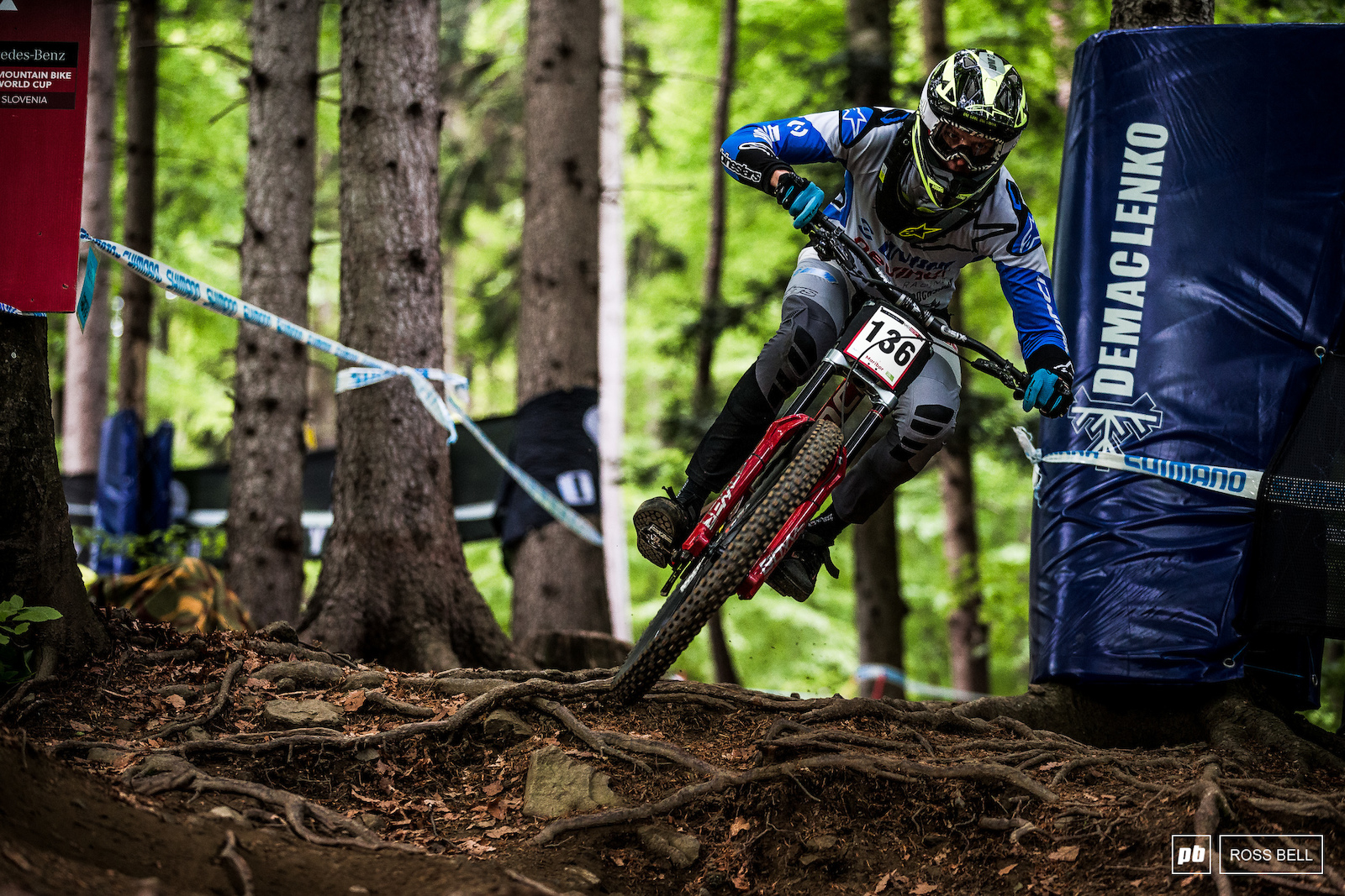 Another local going well is Devinci s Jure Zabjek his 2018 was plagued by injuries but it looks like he s back up to speed now.