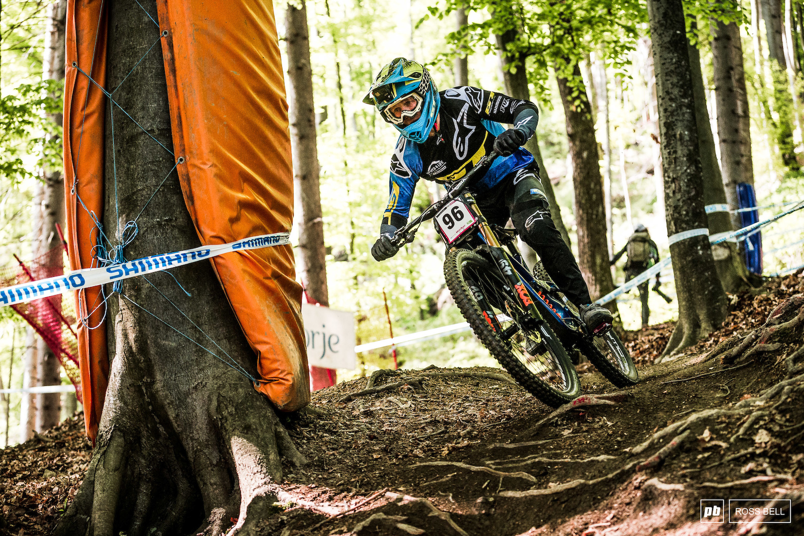 It s good to see George Brannigan back swinging off a downhill bike. After a while on the sidelines with injury he returns and qualifies 10th.