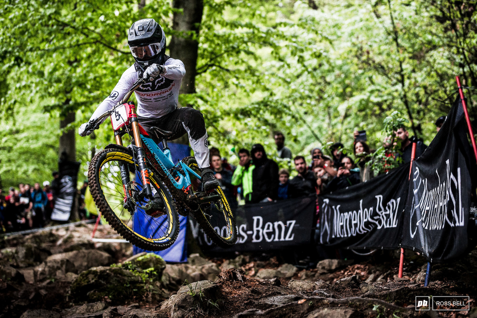Laurie Greenland wasn t hesitating through the rock garden it showed in both his riding and qualifying result.