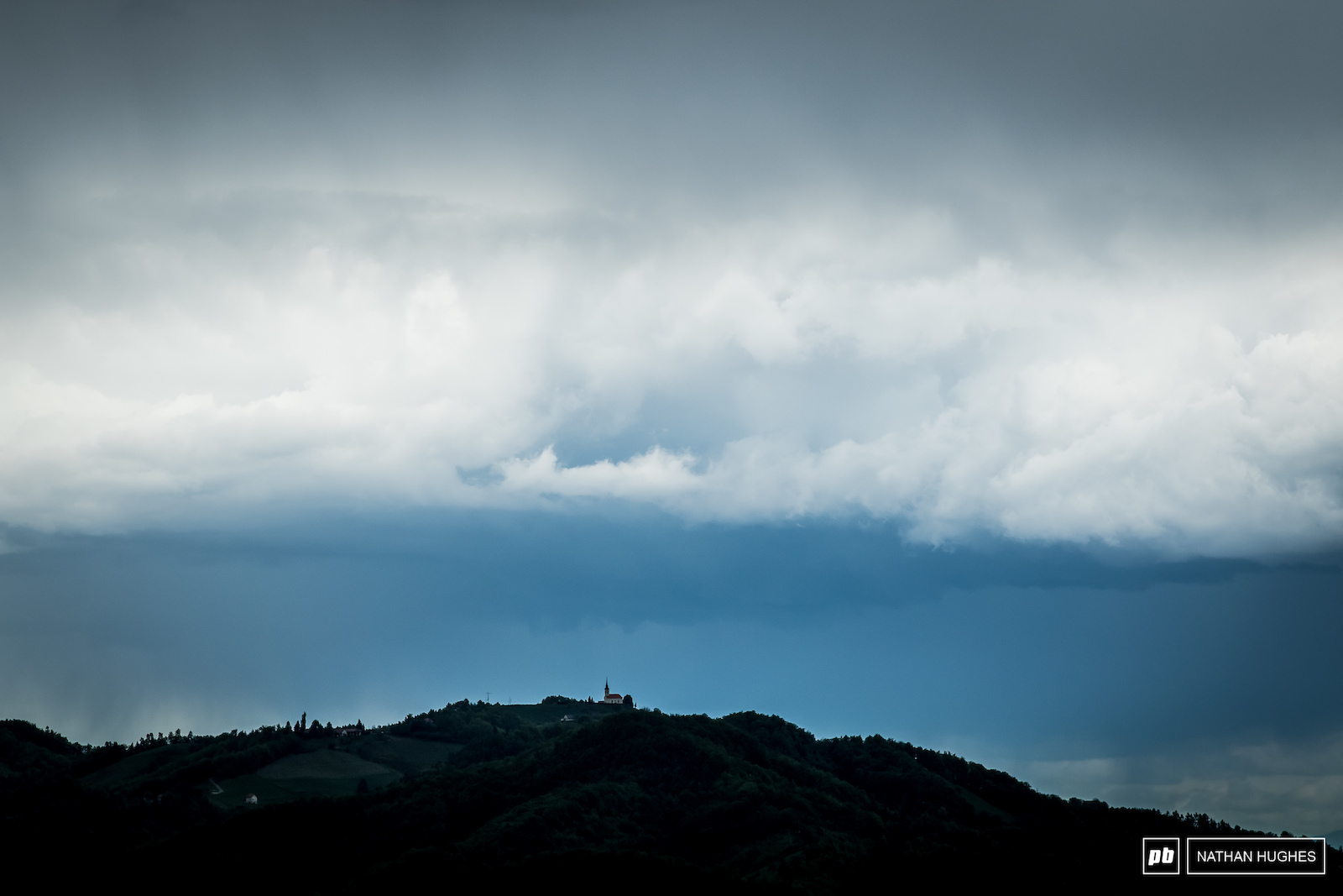 Slovenian storms seem to be swirling around leaving tomorrow s forecast a mystery.