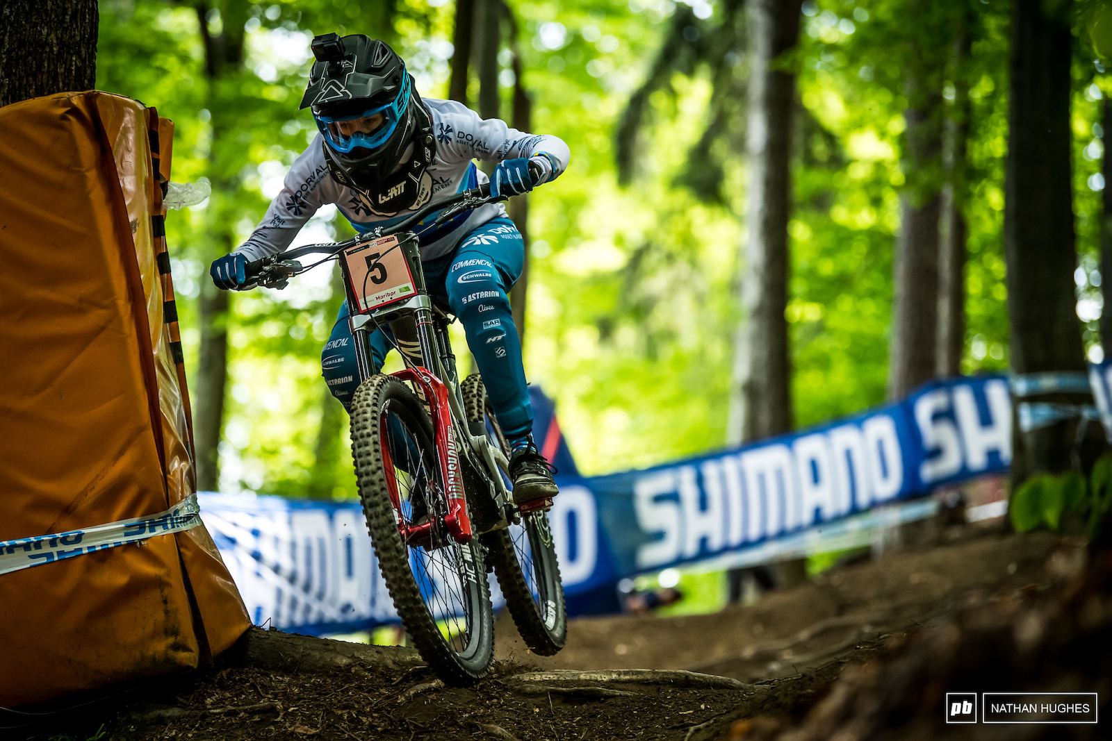 Monika Hrastnik went and swiped herself a podium spot just a couple of hours from her hometown here in Slovenia.