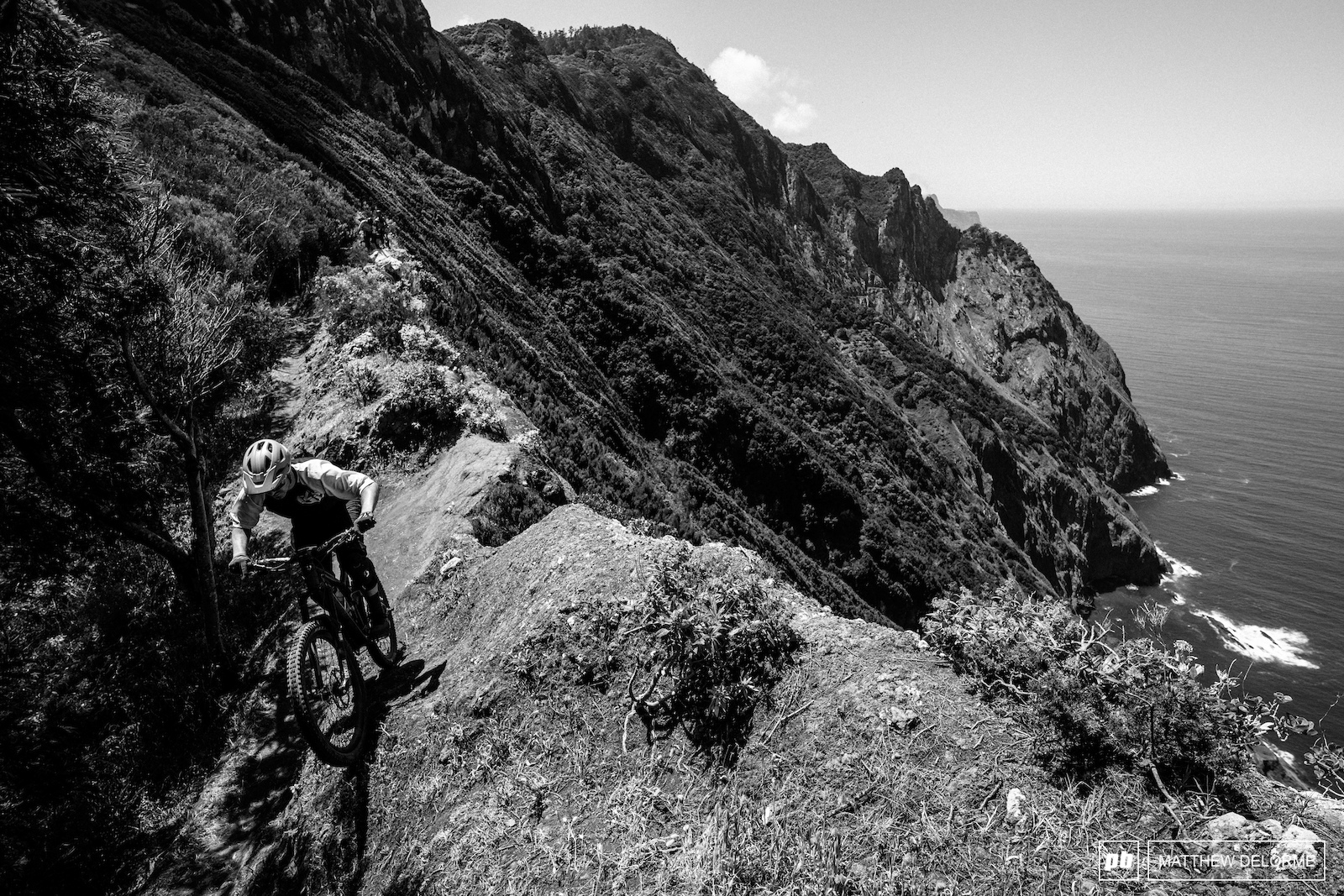 That quintessential Madeira view. We can t wait to get racing on this ridge line.