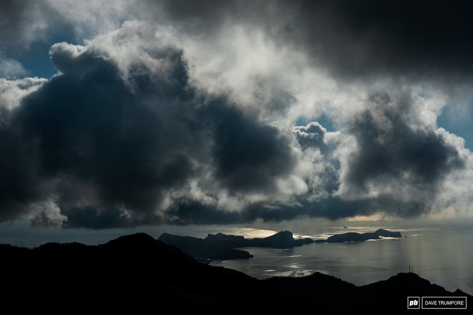 Moody Madeira weather but so far no rain