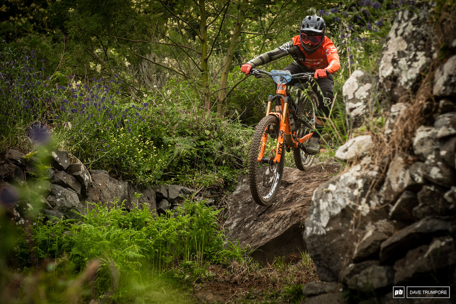 Jesse Melamed has been riding super fast and confident in practice
