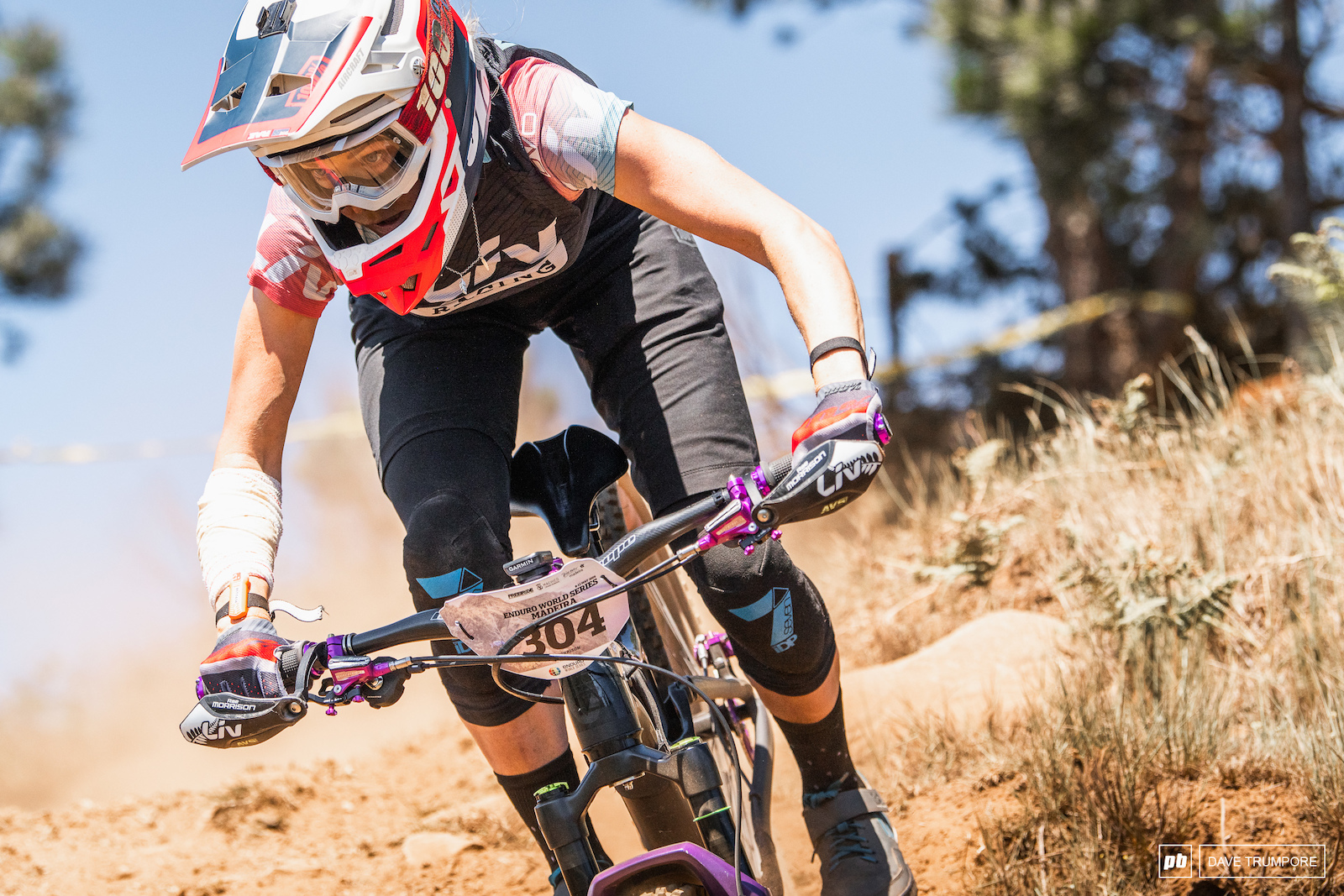Rae Morrison had some Stage wins this weekend but is still struggling to find her consistency