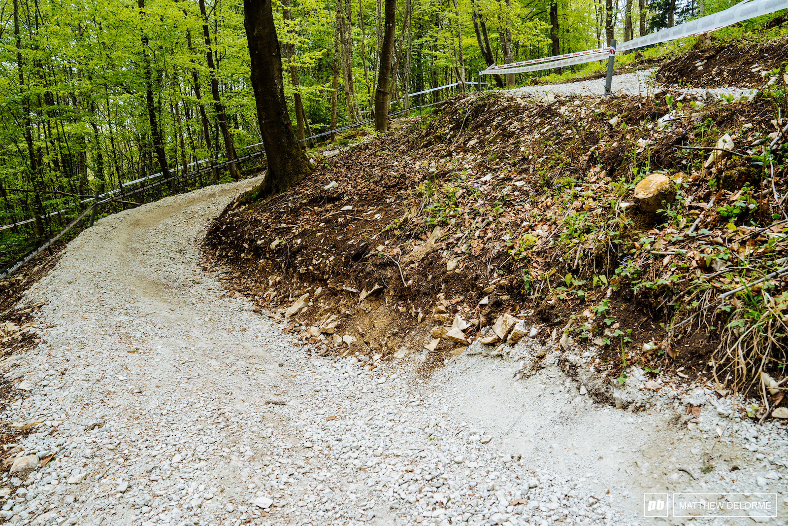 The sheer amount of gravel brought in to build up the trails is mind boggling.