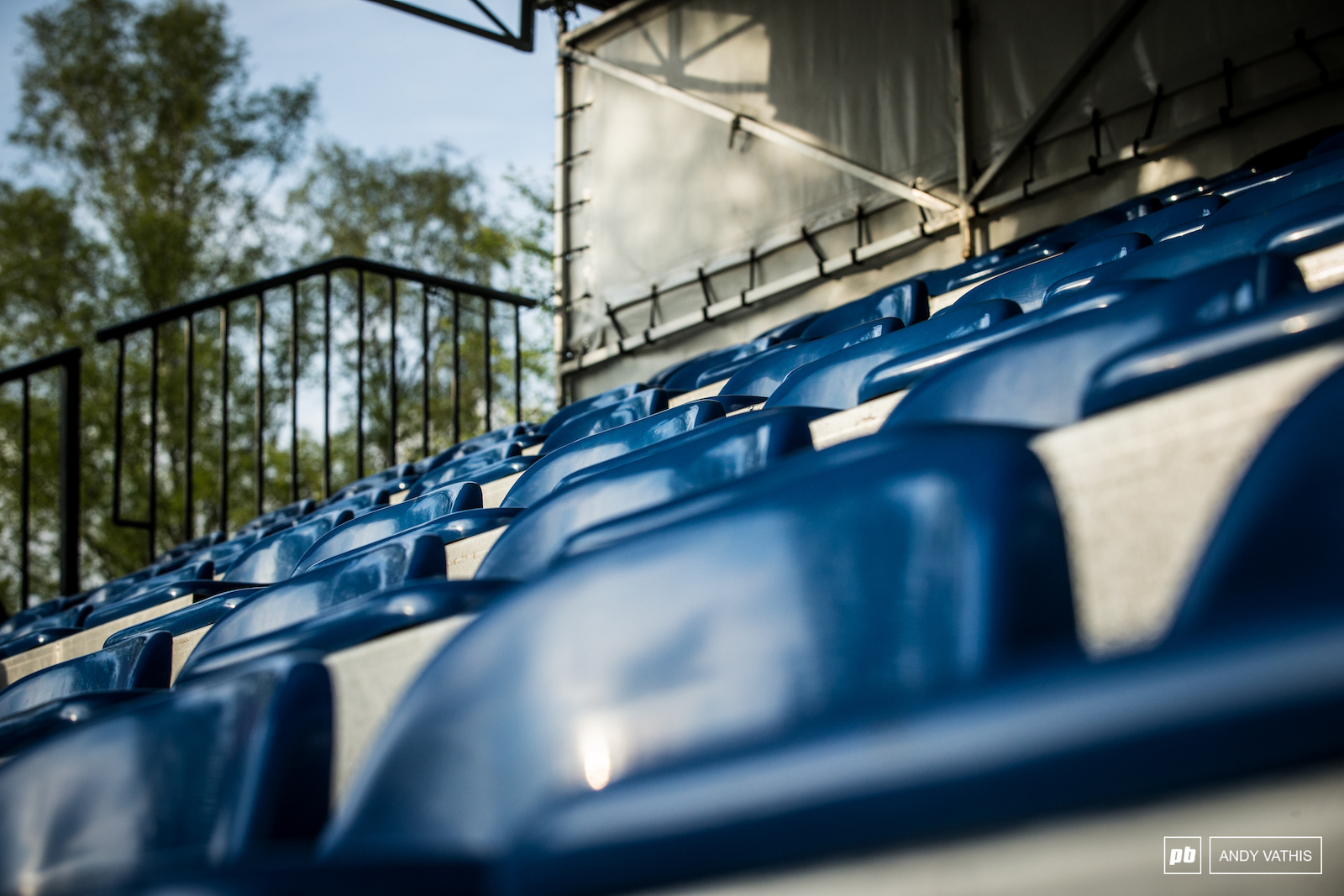 Rain or shine we expect these seats to be full this weekend.