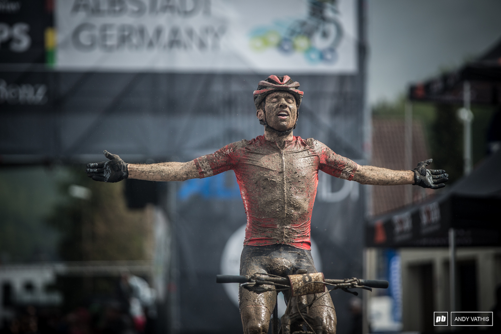 A well earned victory for Mathias Flueckiger.