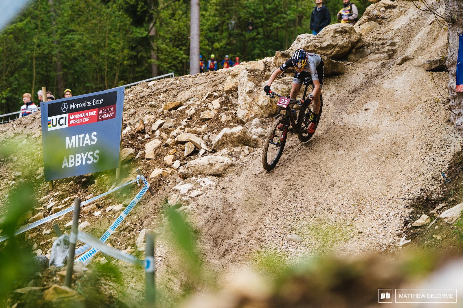 Laura Stigger took the top spot for the U23 women.