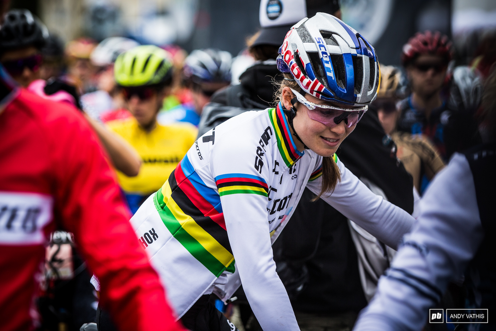 Kate Courtney started the weekend with a win in XCC showing us what she has in the power bank.